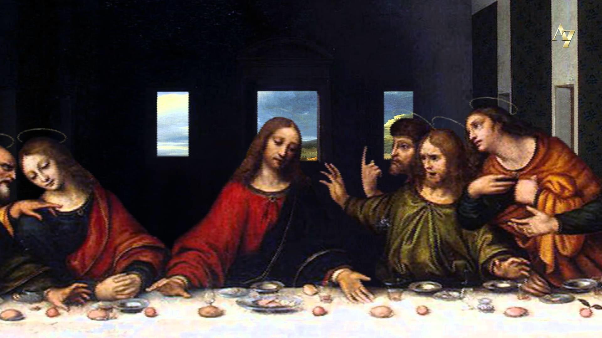 Leonardo da Vinci – The Last Supper – 3D animation