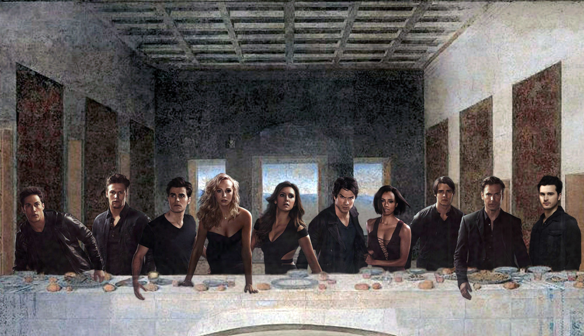 … Last The Vampire Diaries Supper by Gun4ux