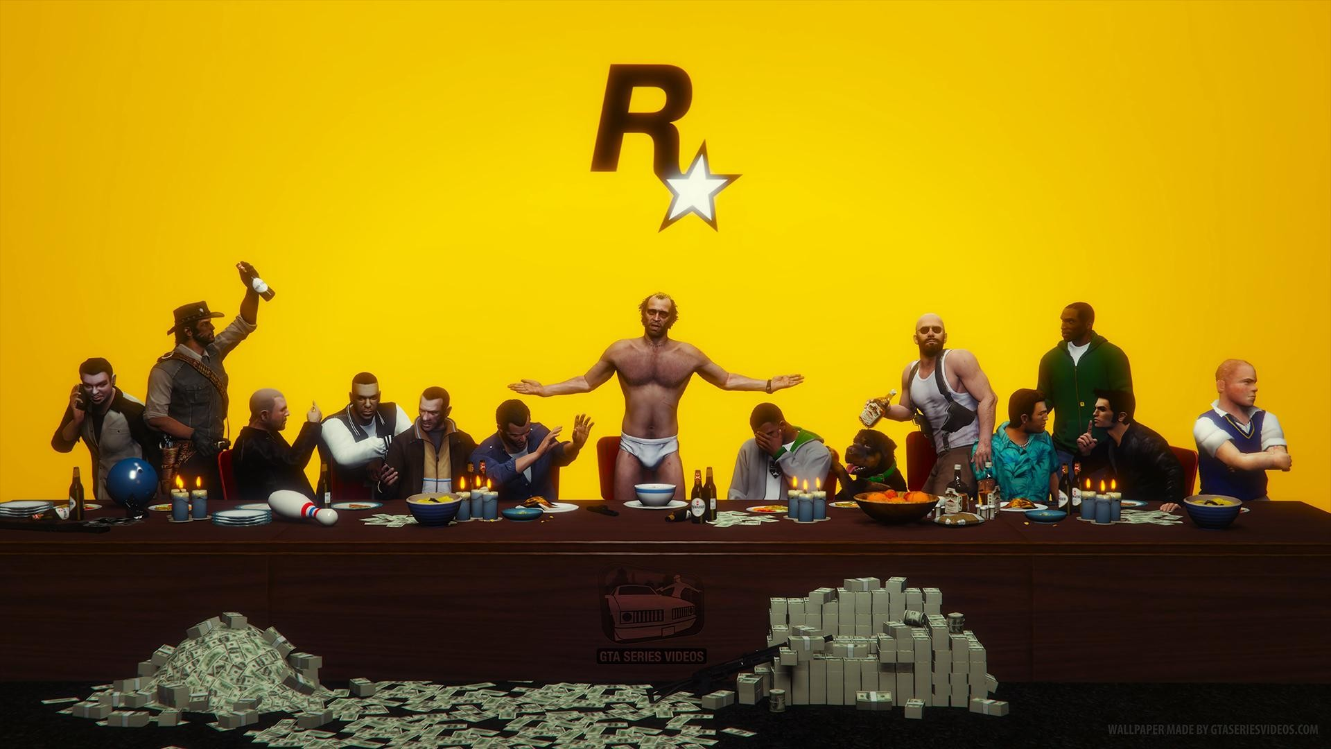 Rockstar Games The Last Supper …
