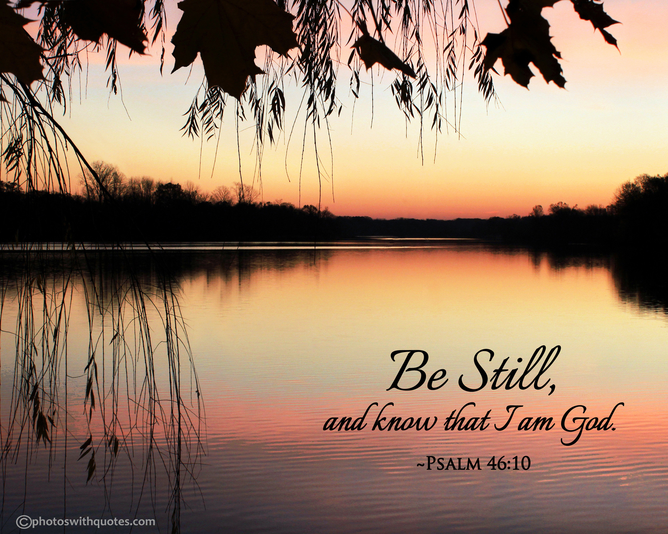 """""""Be Still"""" – Free 8×10 Picture · """""""