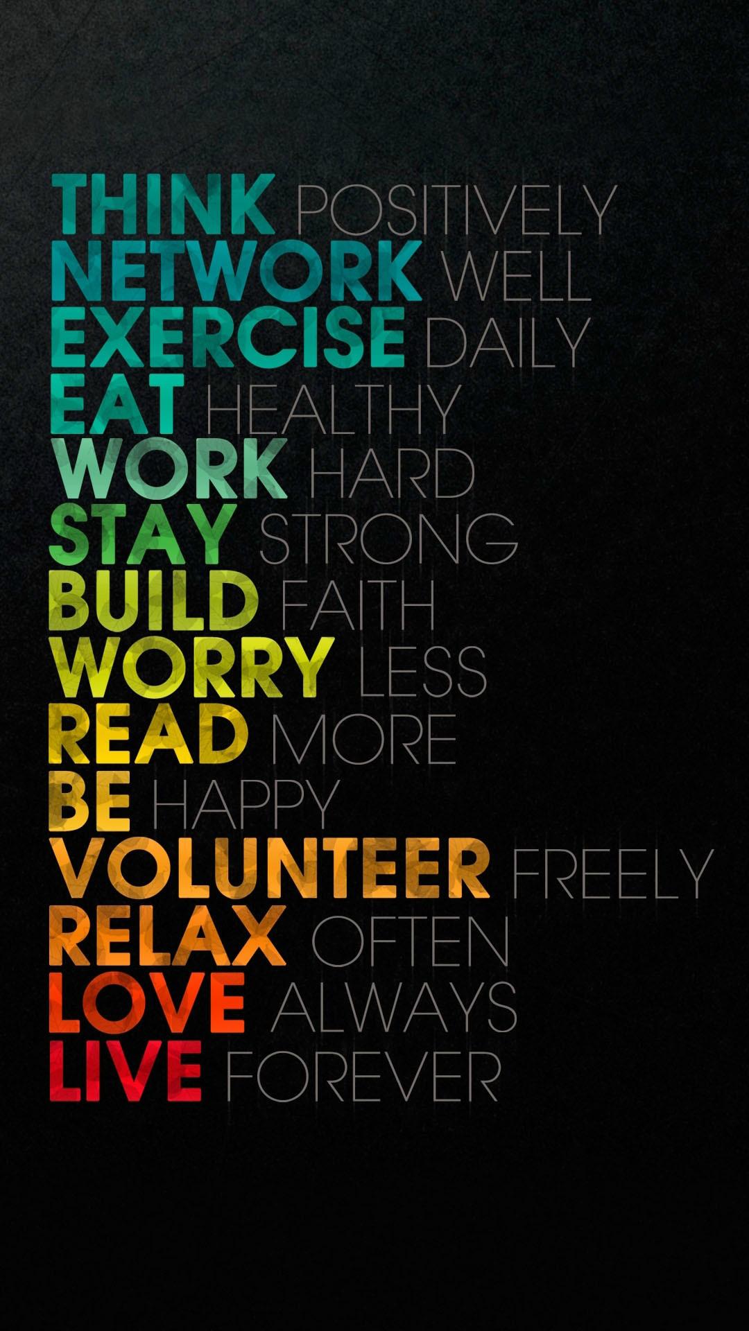Words Of Wisdom iPhone 6 Wallpaper Download