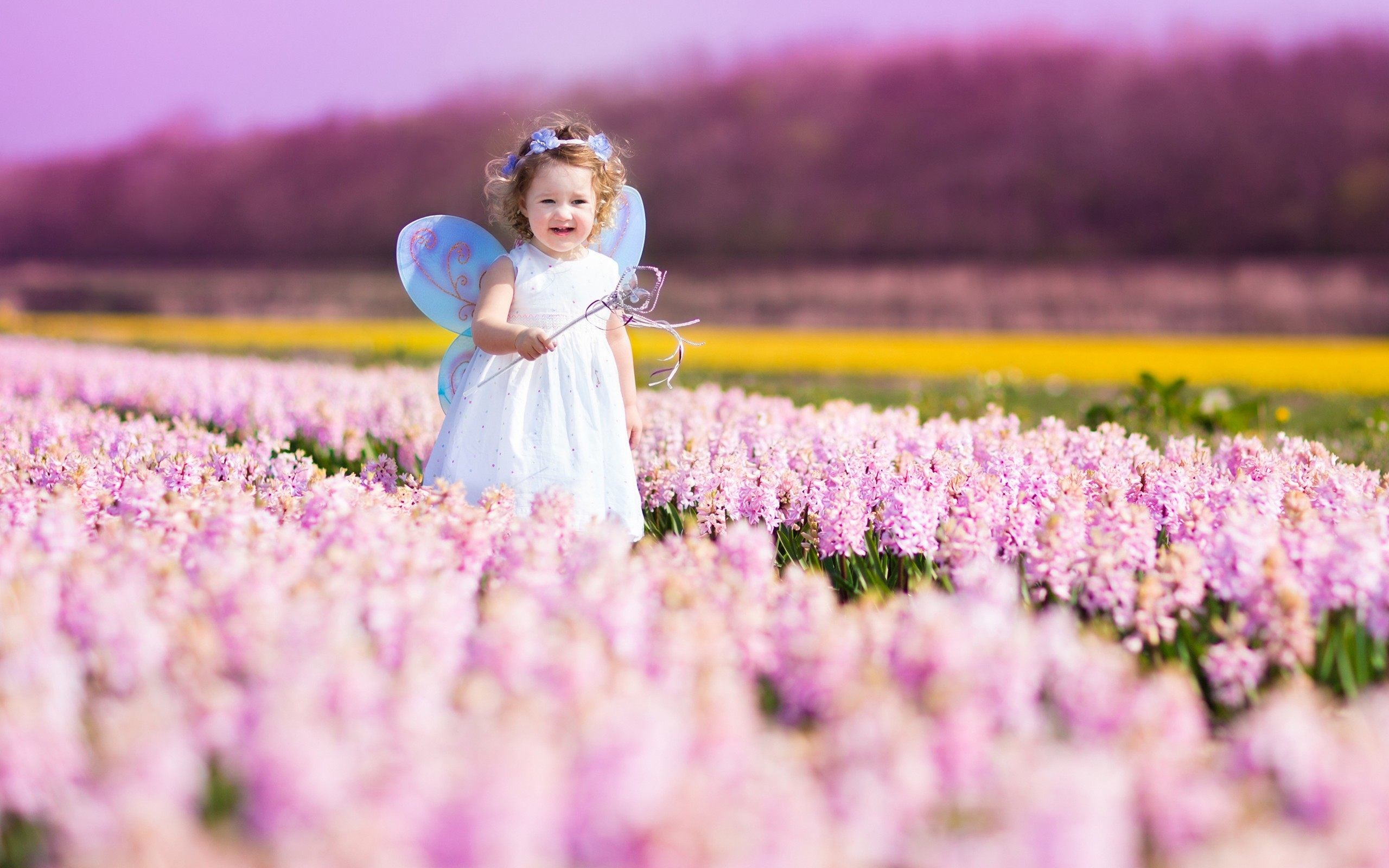 Little Fairy Cute Girl Wallpaper HD Download For Desktop