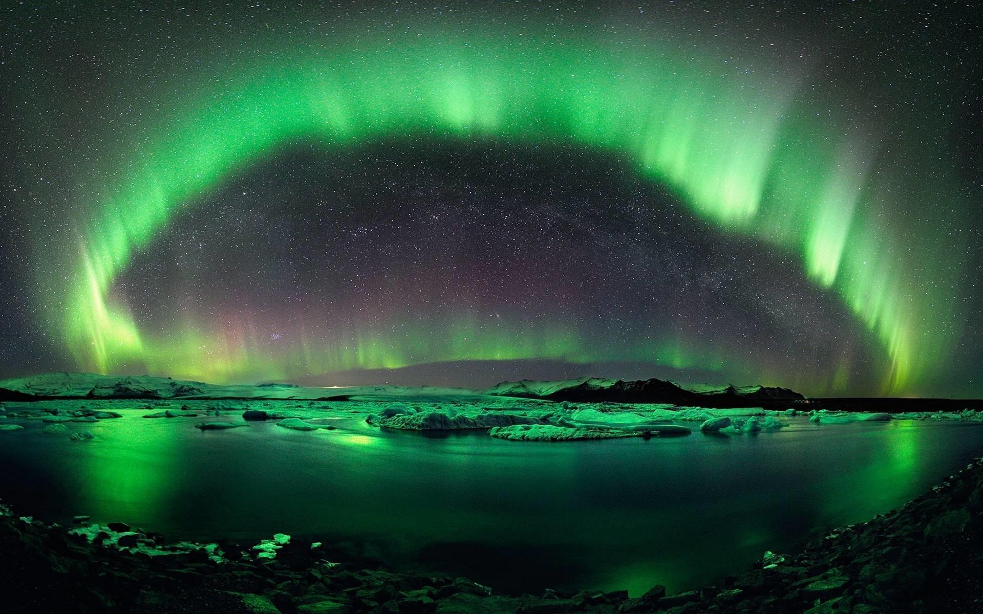 Northern Lights Wallpaper 2294 px ~ FreeWallSource.