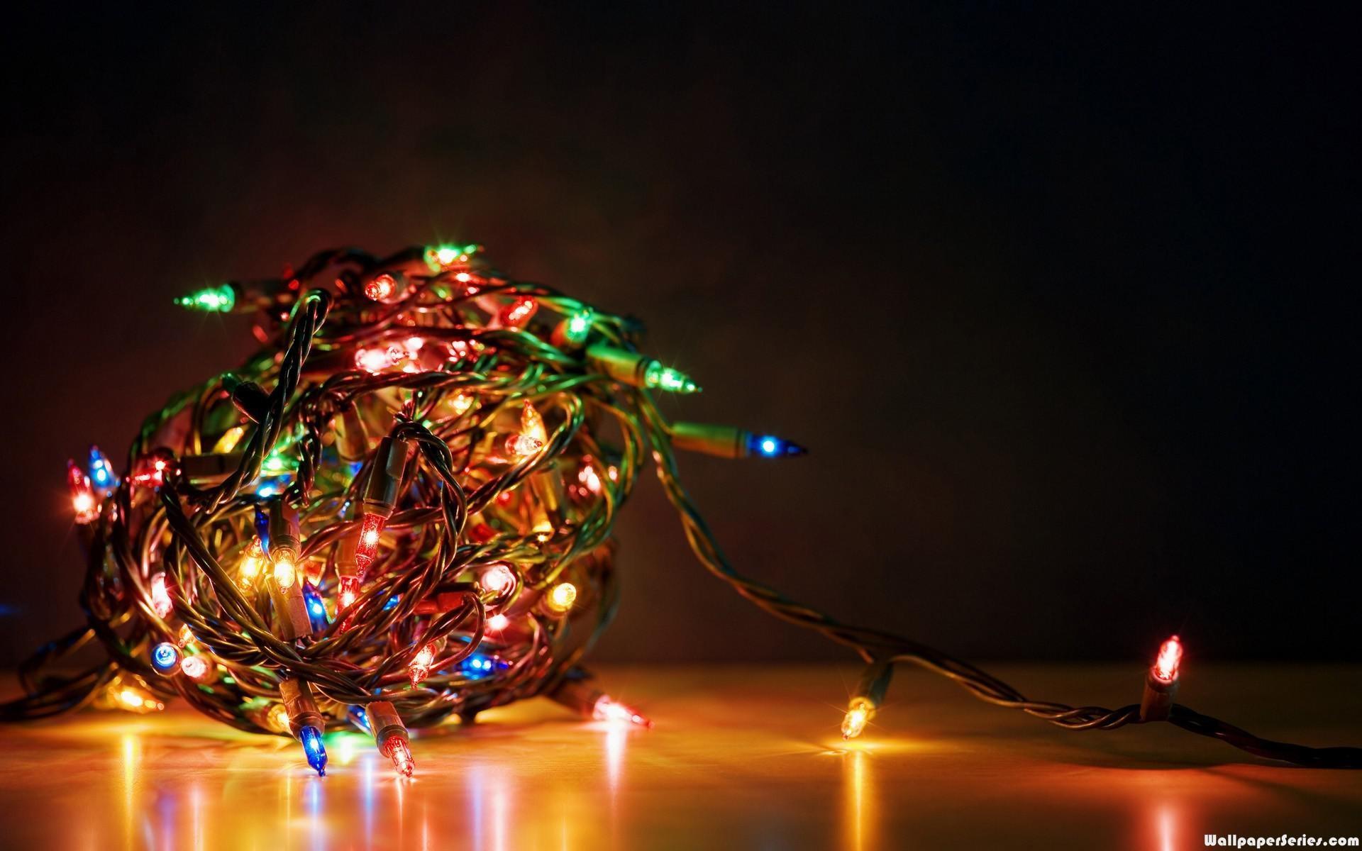 Christmas Lights Desktop Wallpaper