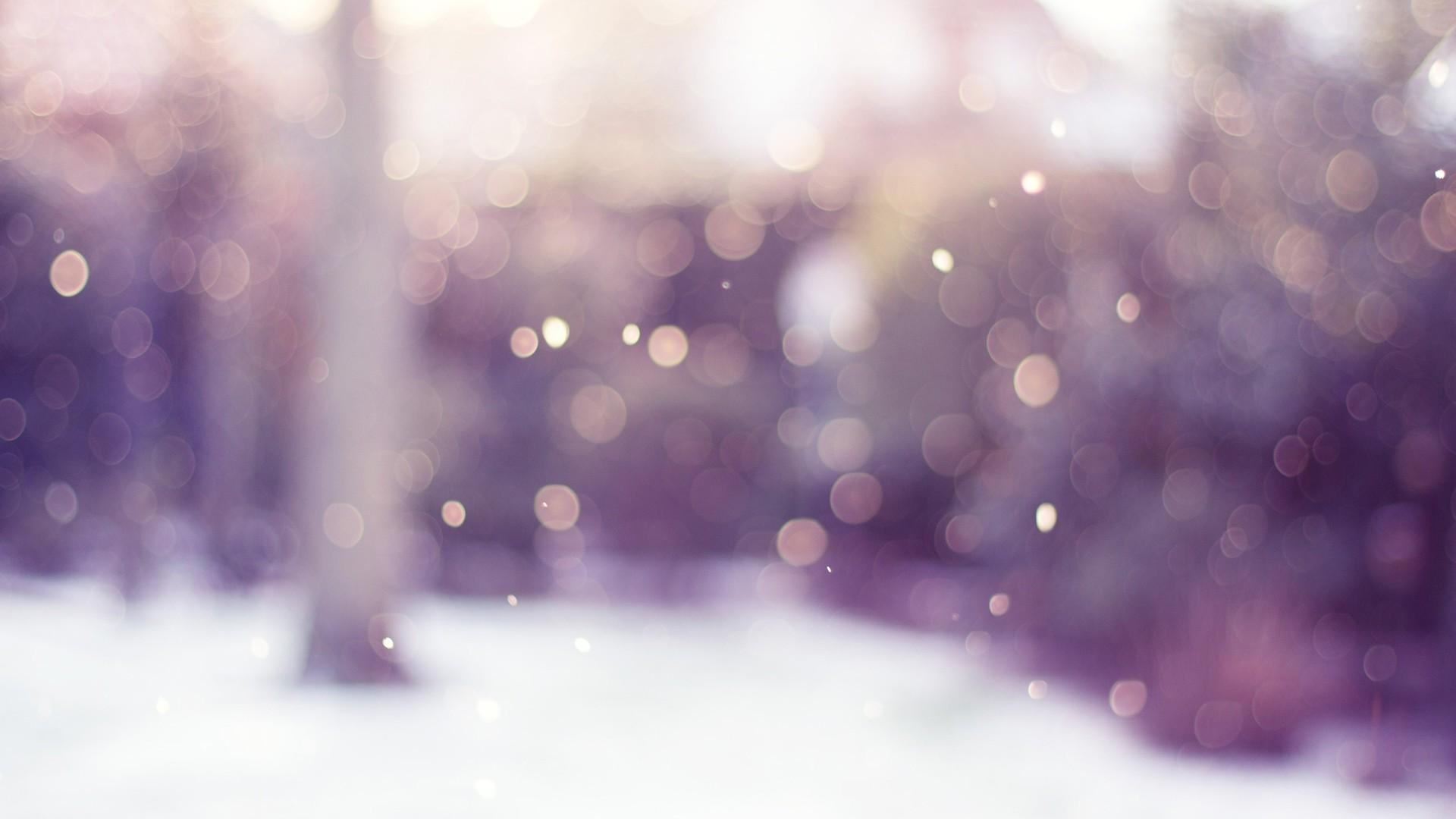 Blurred lights HD Wallpaper Blurred …