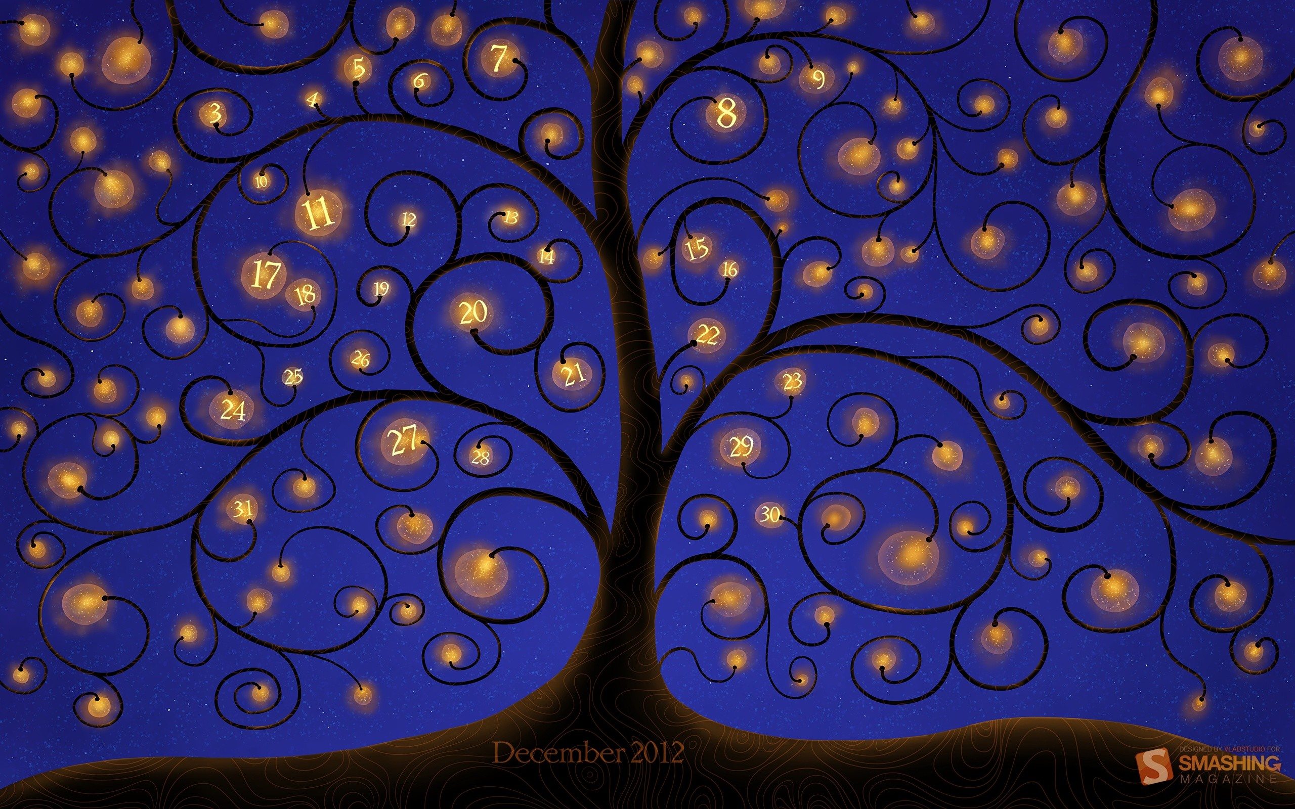 Tree Of Lights wallpapers and stock photos