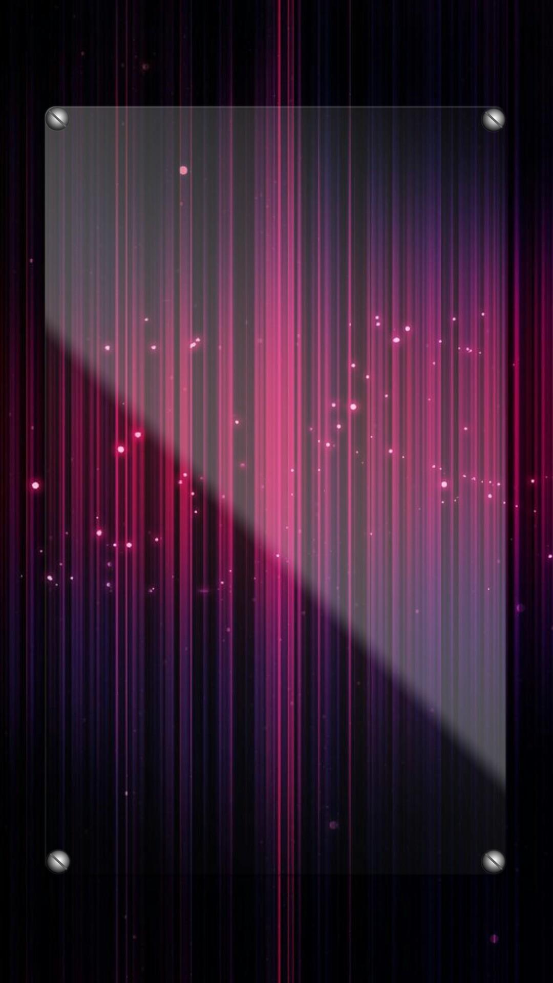 Pink and Purple Strobe Lights Wallpaper