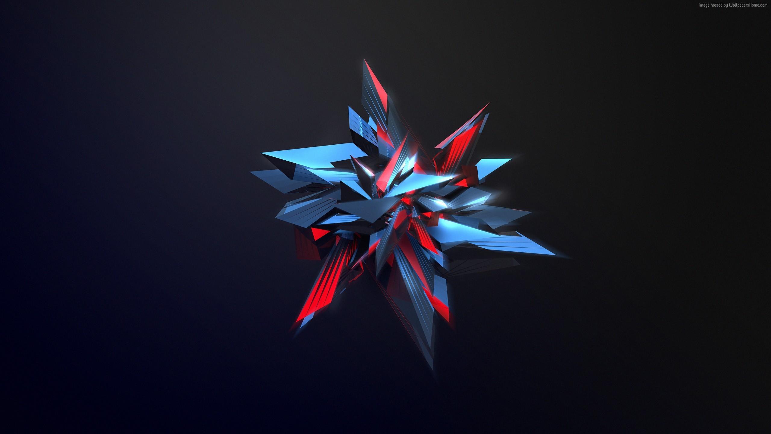 polygon, 4k, HD wallpaper, 3d (horizontal) …
