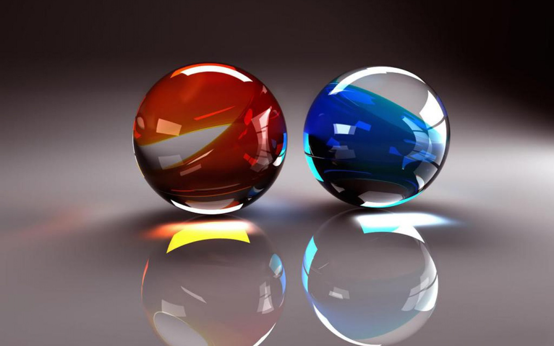3D balls wallpaper desktop
