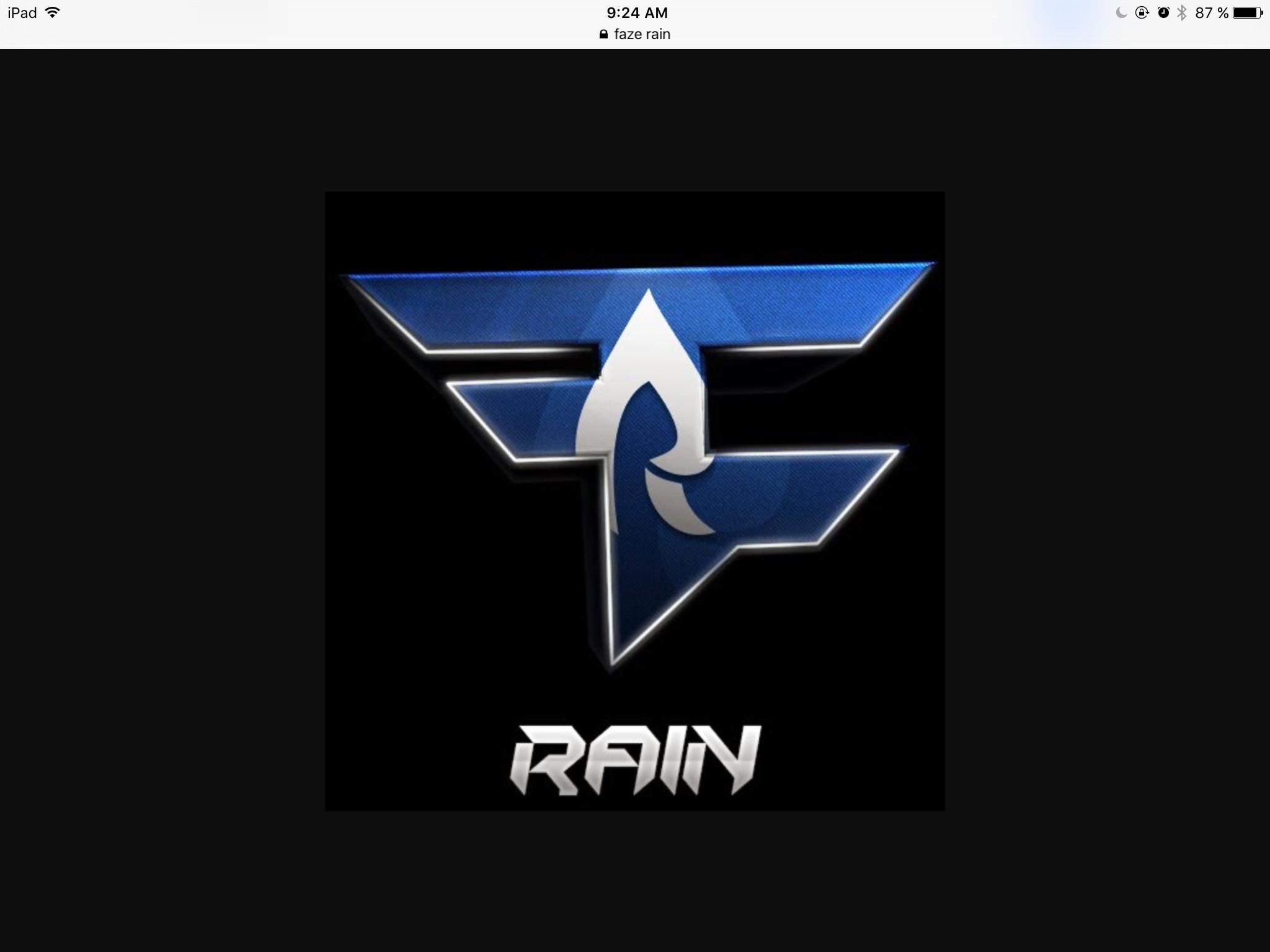 Faze Rain <3