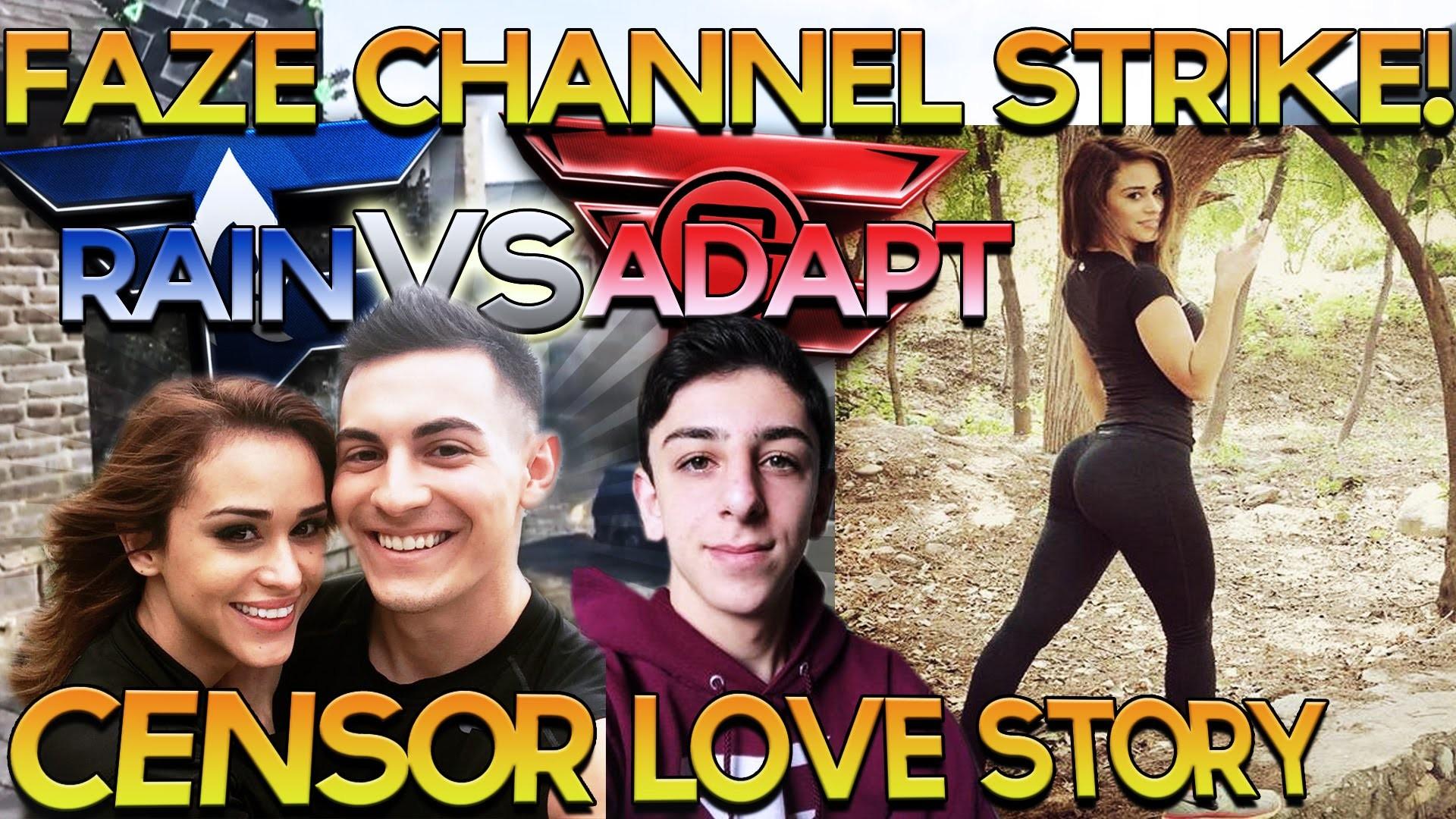 FaZe Rug Channel Strike, FaZe Censor & Yanet Garcia Love Story, Rain vs  Adapt, #FAZE5 INTEL – Scarce – YouTube