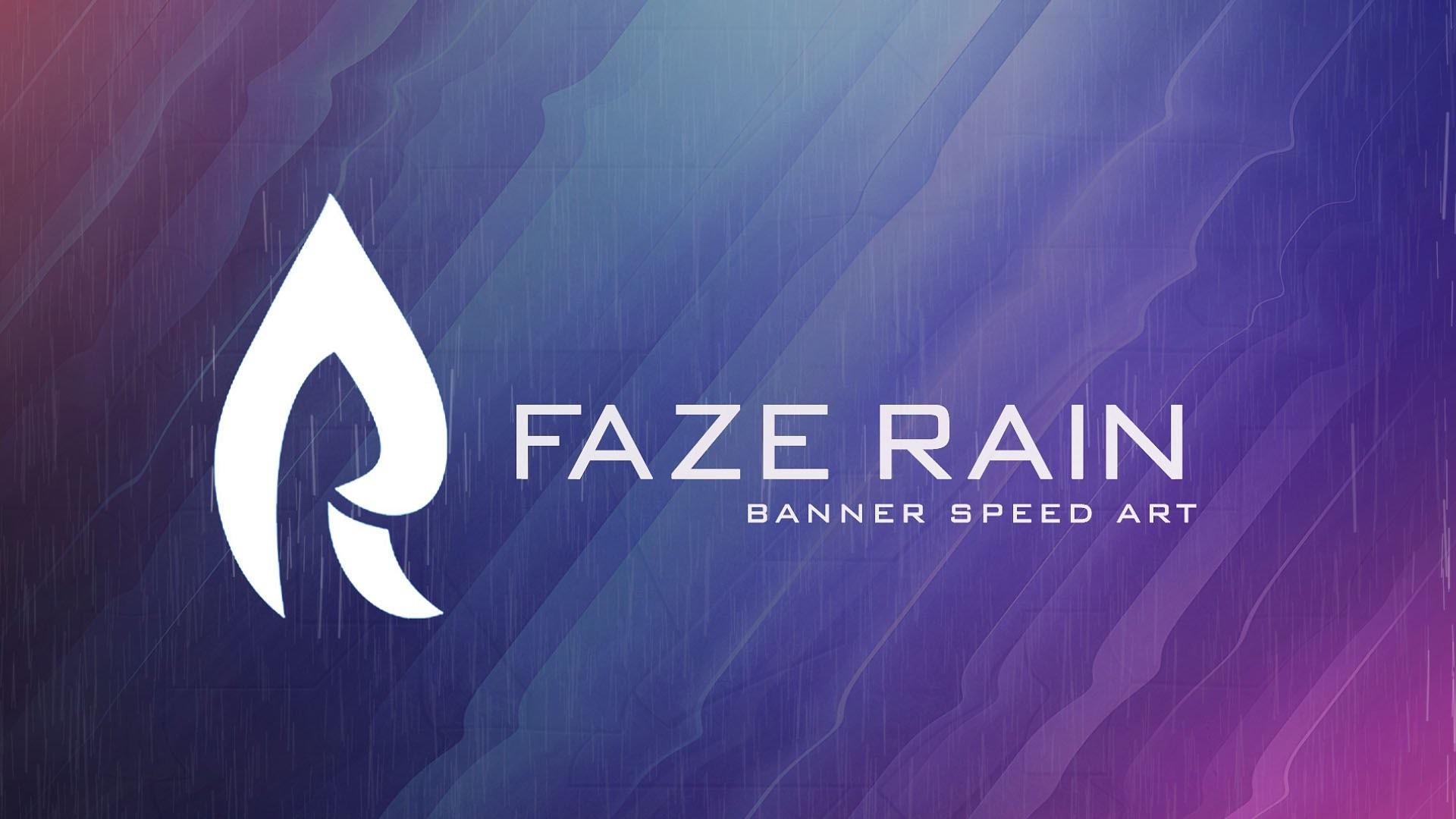 FaZe Rain Banner Speed Art – YouTube