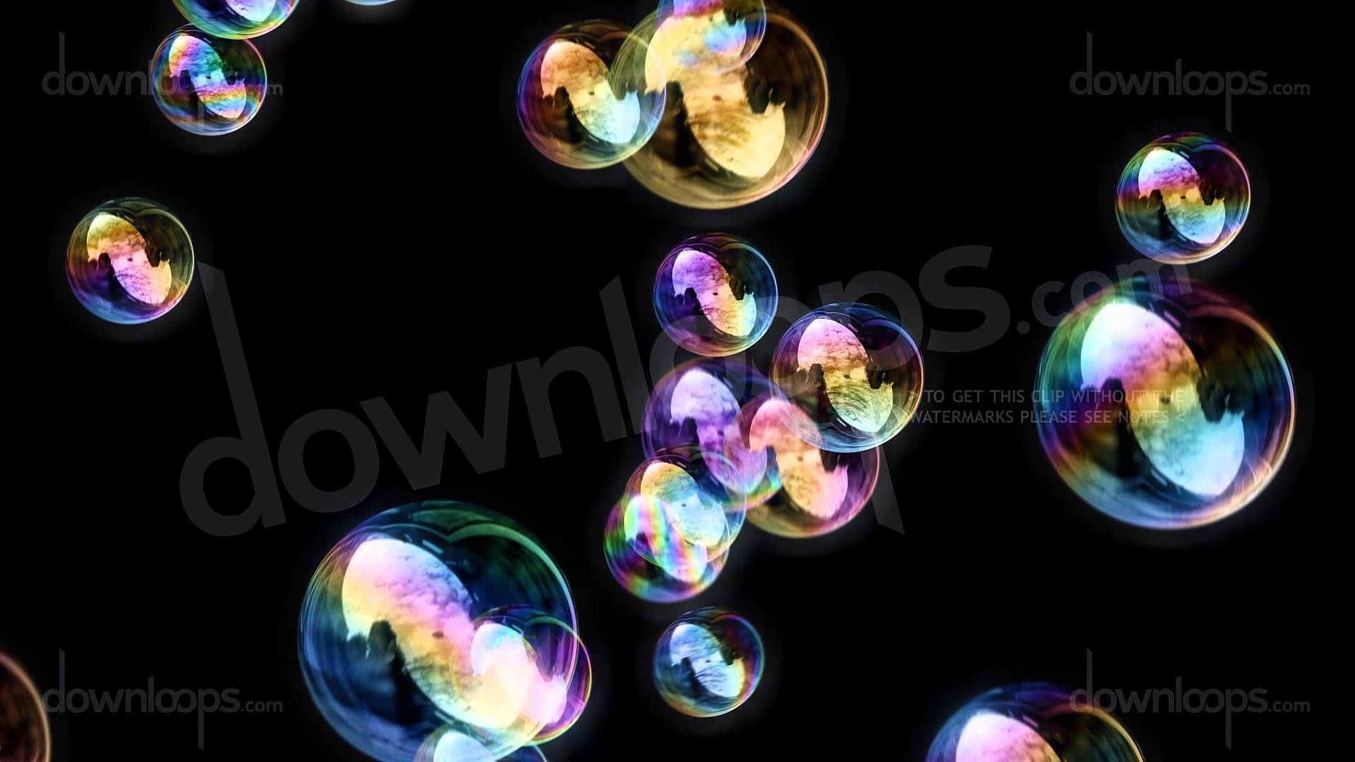 Soap Bubbles – Black Background – Calm Relaxing Motion Background Video  Loop – YouTube