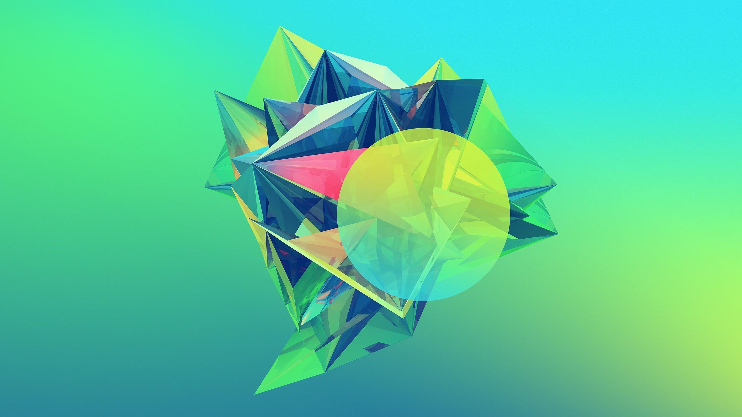 Crystalline Geometry HD Wallpaper | Download HD Wallpapers