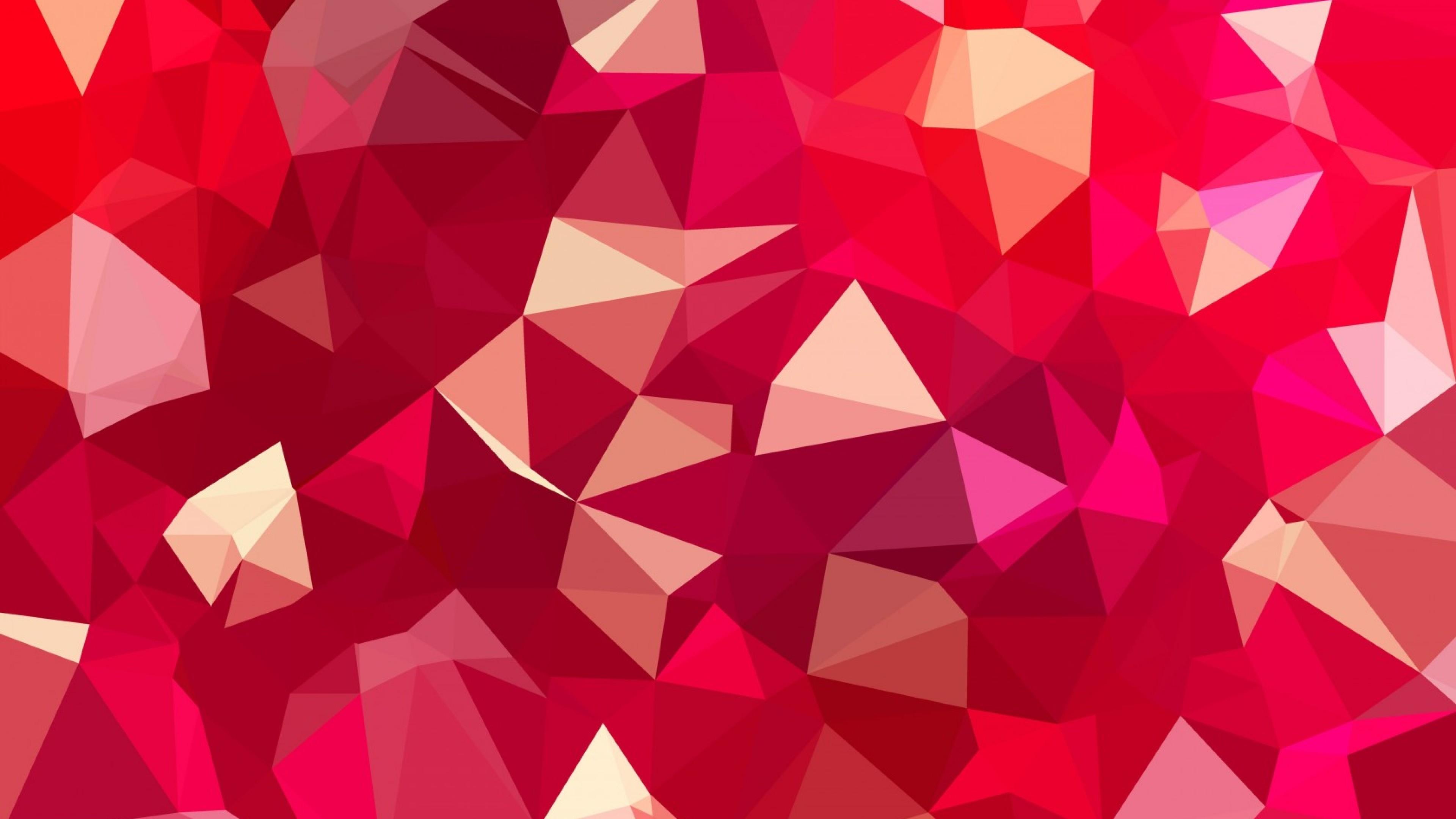 Wallpaper lines, faces, magenta, geometry, bending