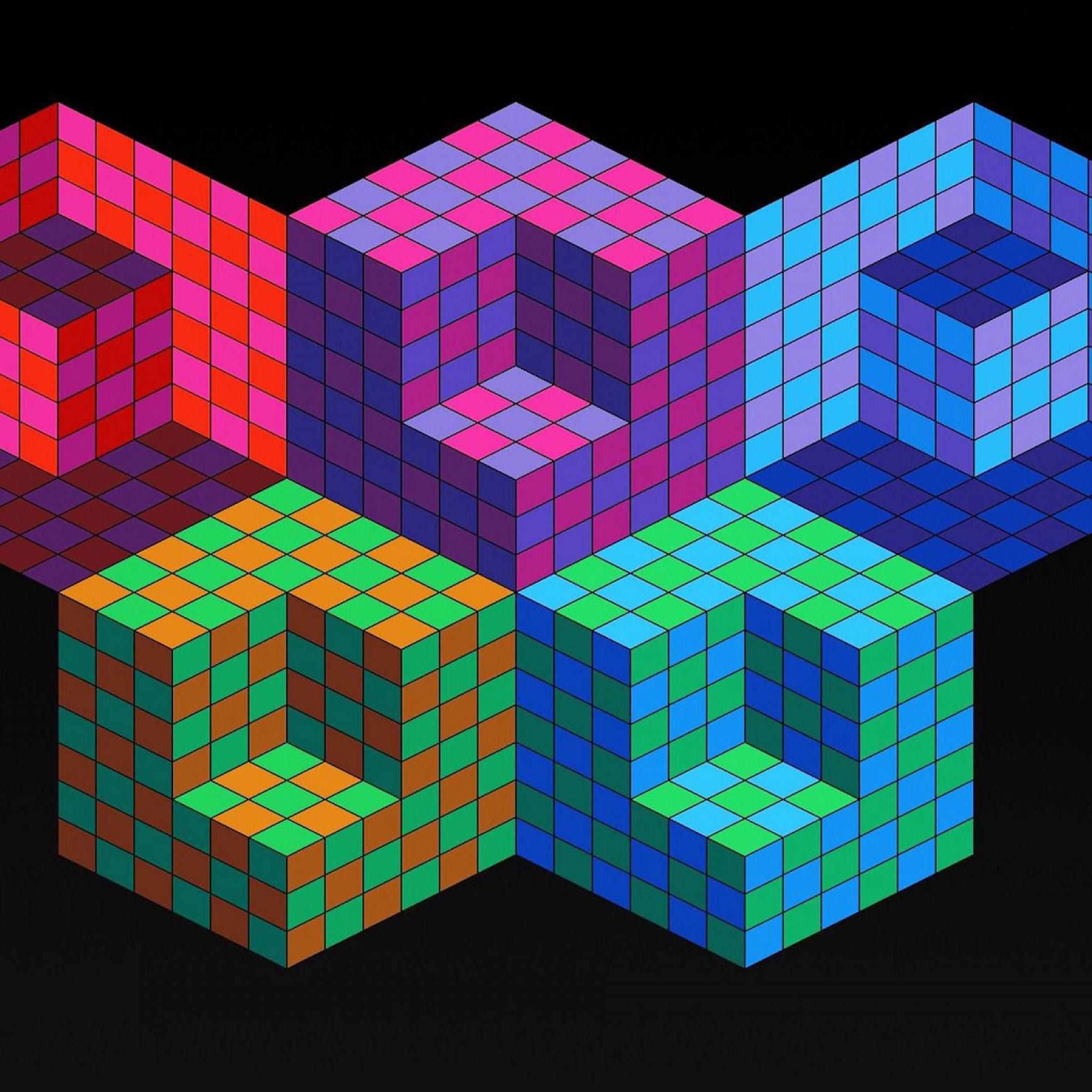 Geometric iPad Wallpaper 3