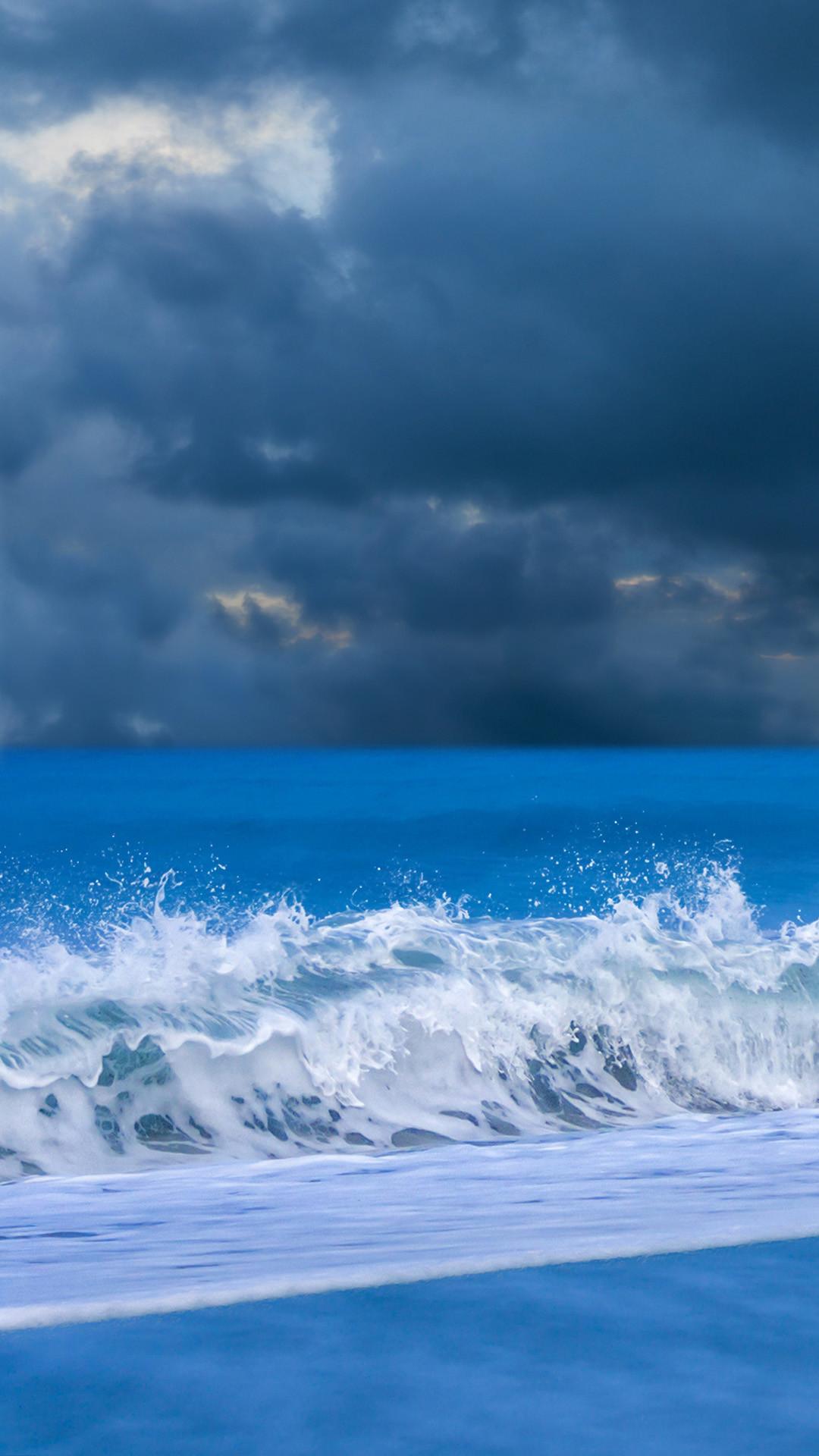 Beautiful waves iphone 6 plus wallpaper   iPhone 6 Plus Wallpapers HD