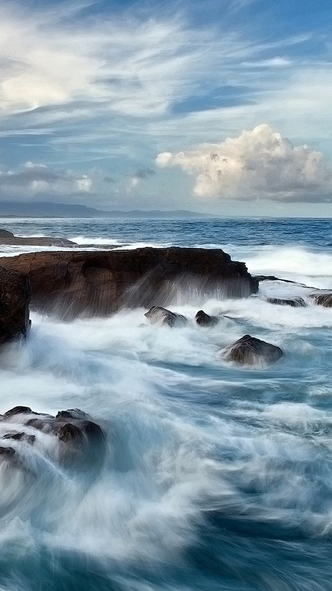 6s plus animated sea waves iphone 6s plus wallpapers hd