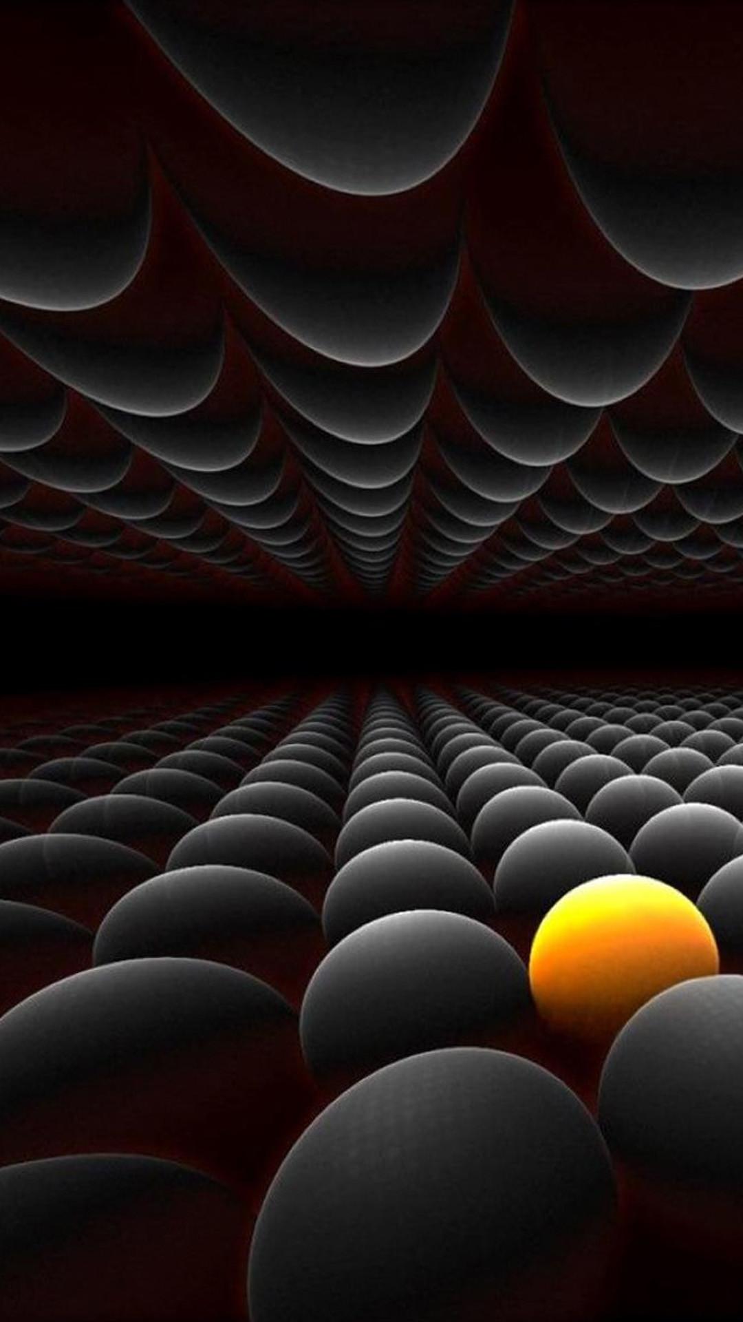 Infinite Balls Array Render iPhone 6 Plus HD Wallpaper