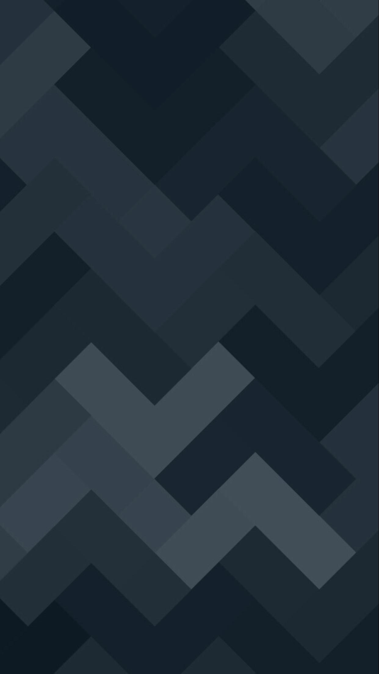 Shapes Black Wallpaper iPhone 6 Plus