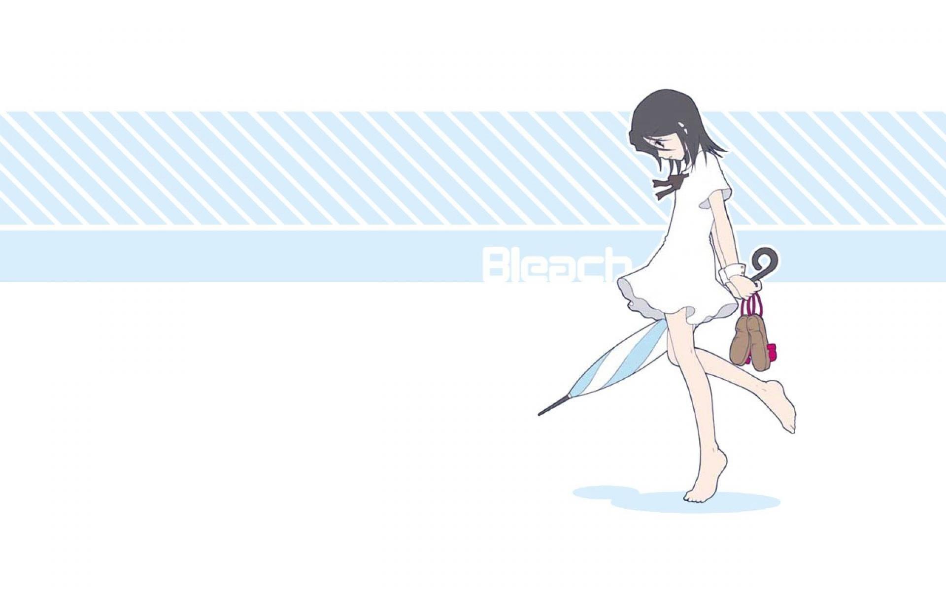 Bleach Rukia White Wallpaper