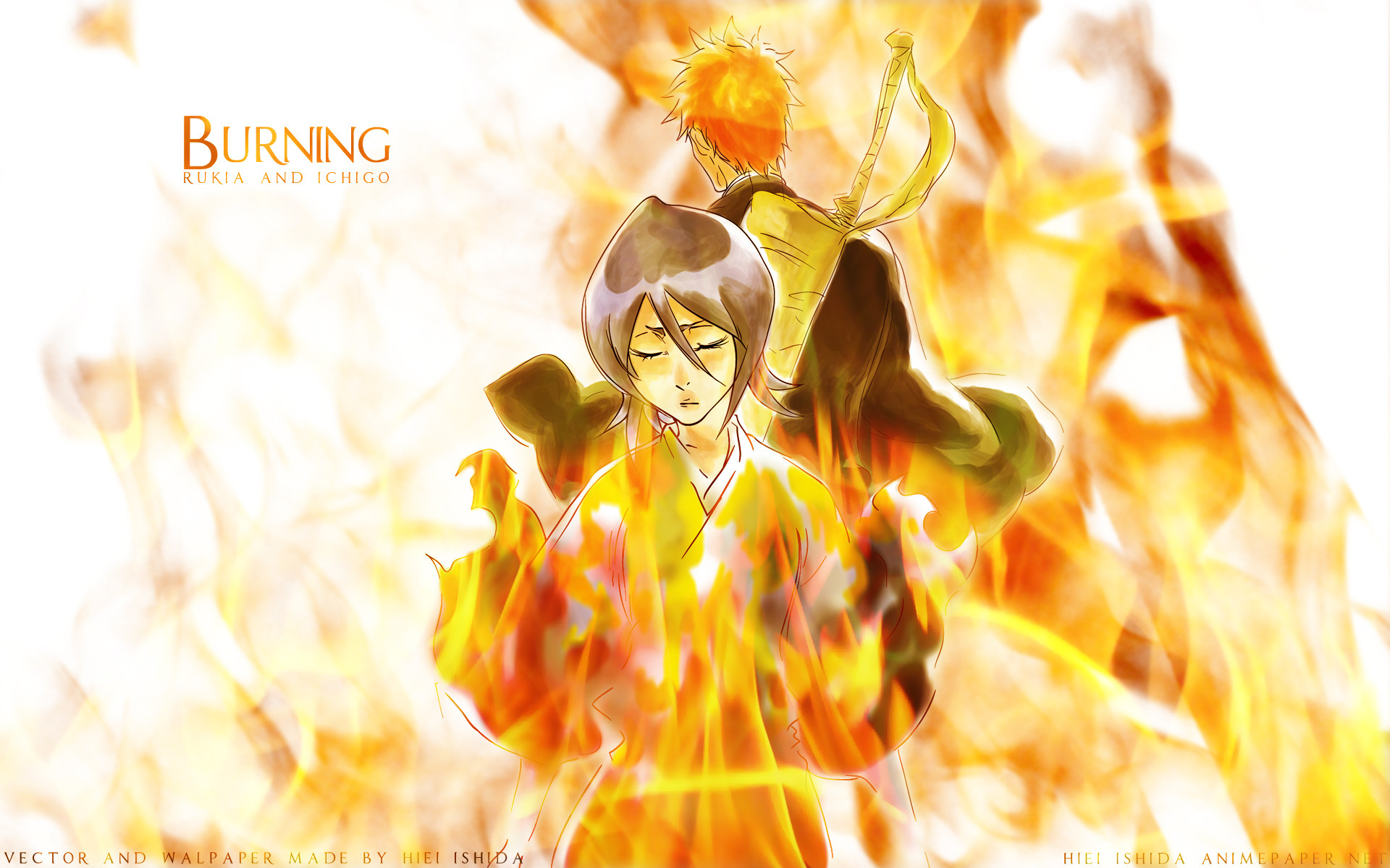Bleach Forever images Ichigo and Rukia HD wallpaper and background photos