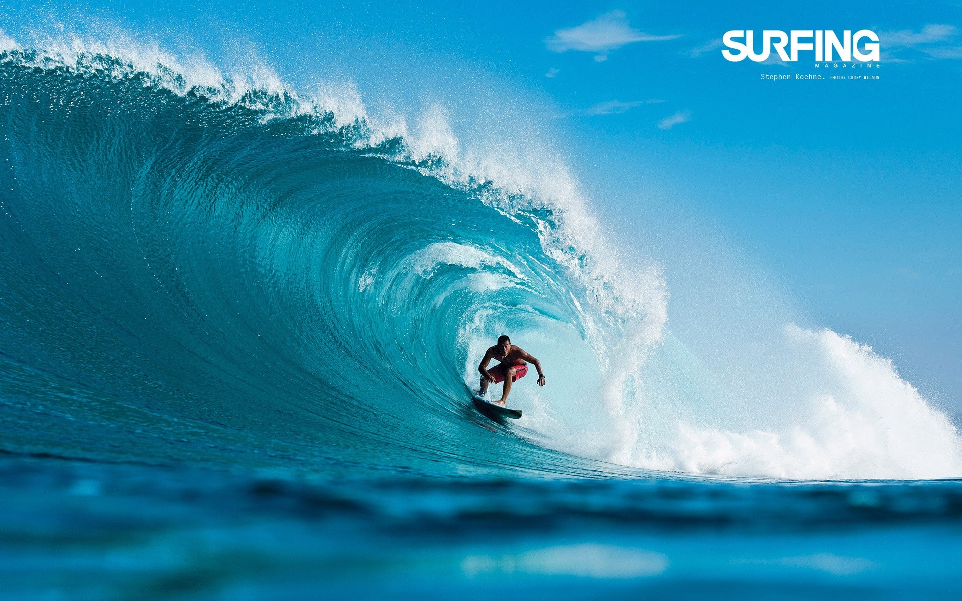 Download Wallpaper Surfing In Teahupoo Tahiti | Apps Directories