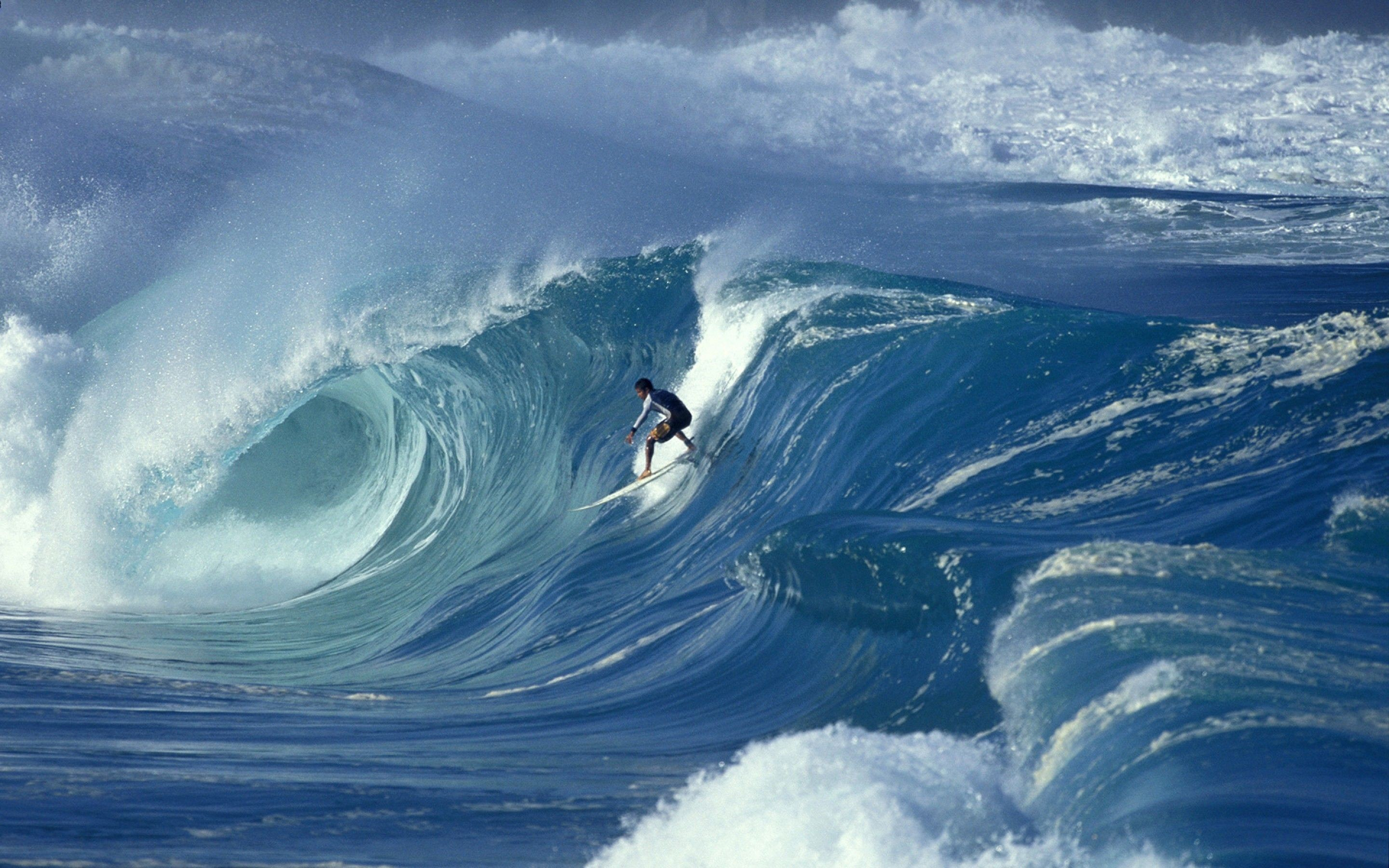 Surfing – The big wave