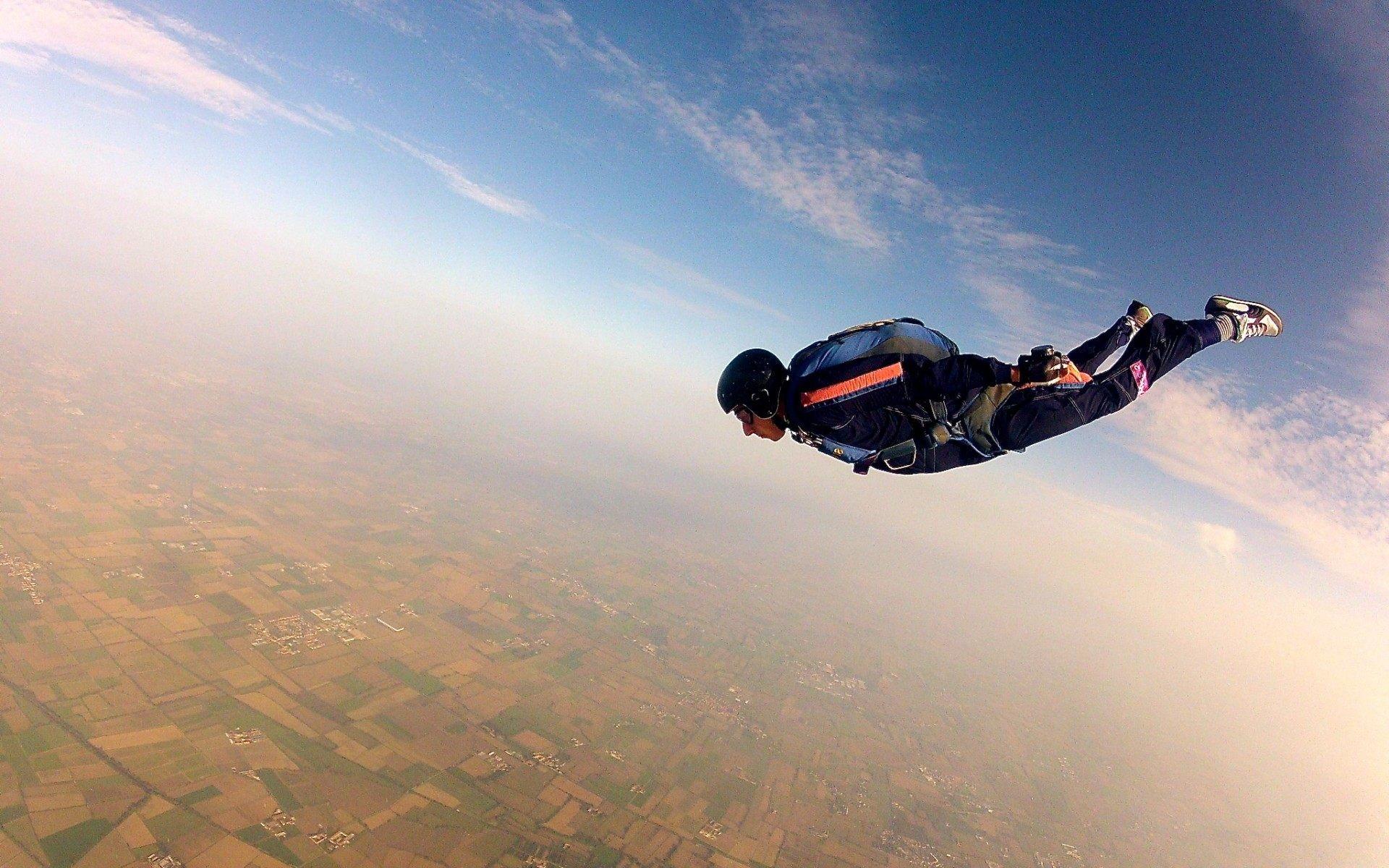 … parachuting skydiver extreme sports wallpaper for desktop …