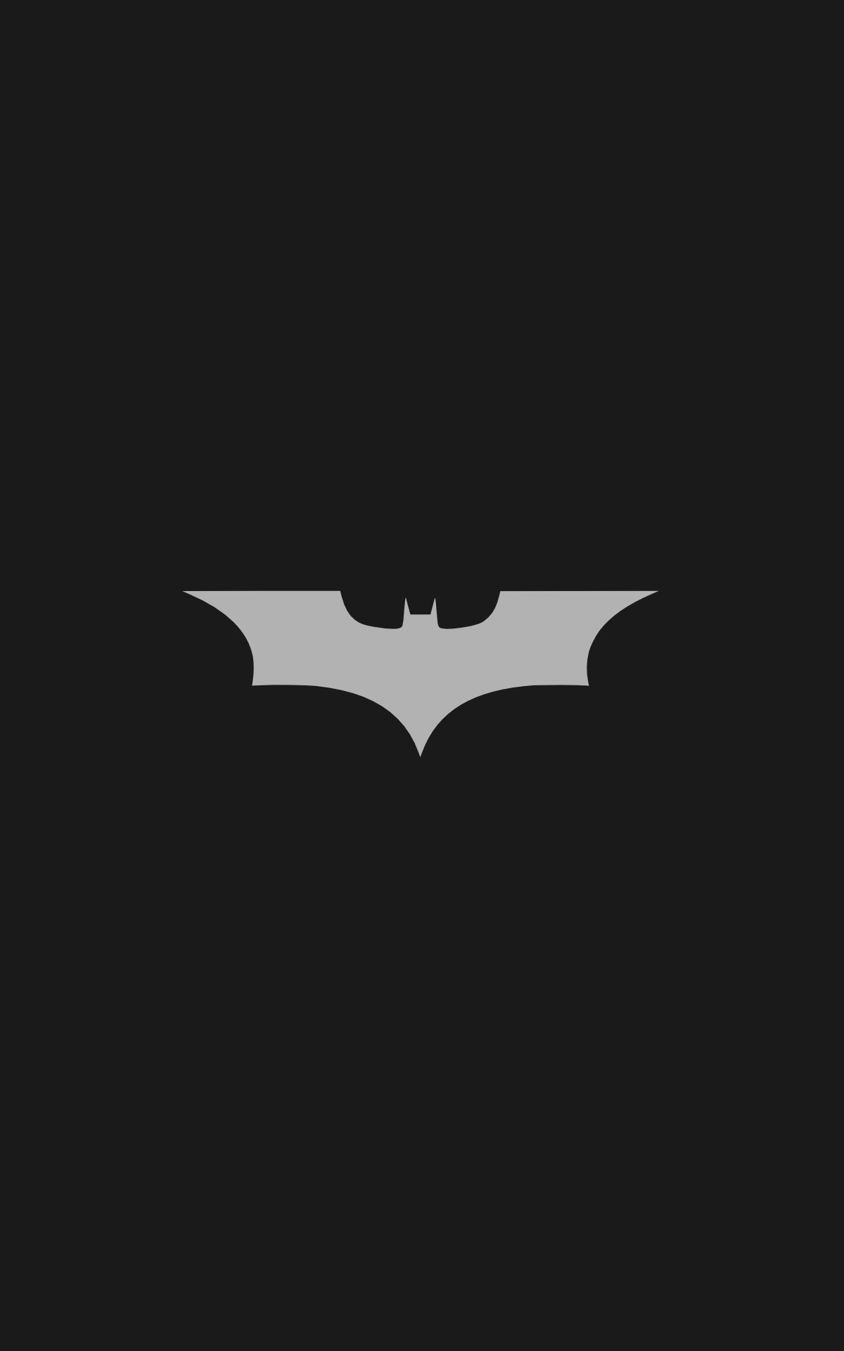 Batman Logo, Batman, Minimalism, Portrait Display Wallpapers HD / Desktop  and Mobile Backgrounds