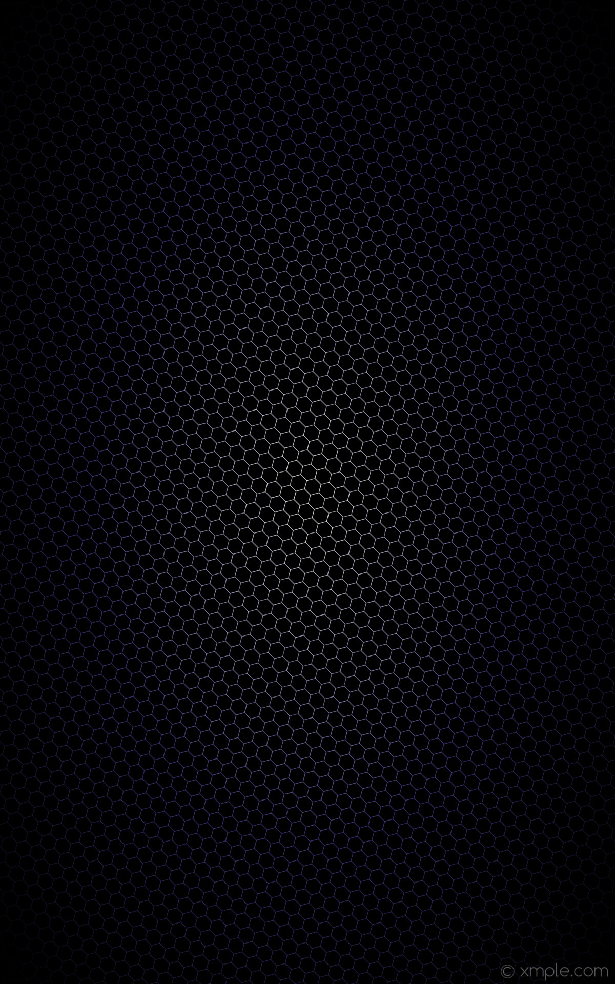 wallpaper black white hexagon purple glow gradient dark slate blue #000000  #ffffff #483d8b