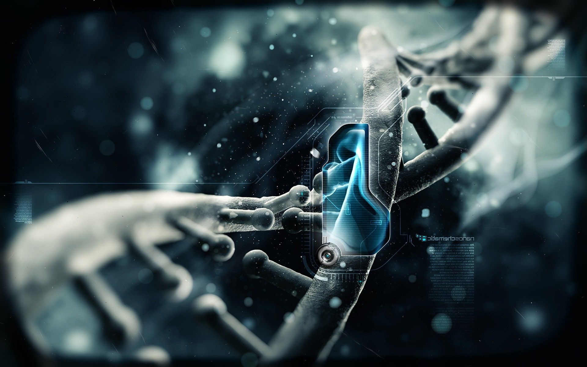 blue, Science Fiction, Anime, DNA, Science, Schematic, …