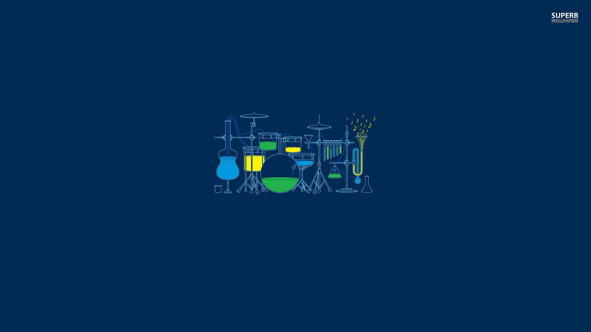 Scientific music, science, instrument, minimalistic, HD …  Desktop wallpapers …