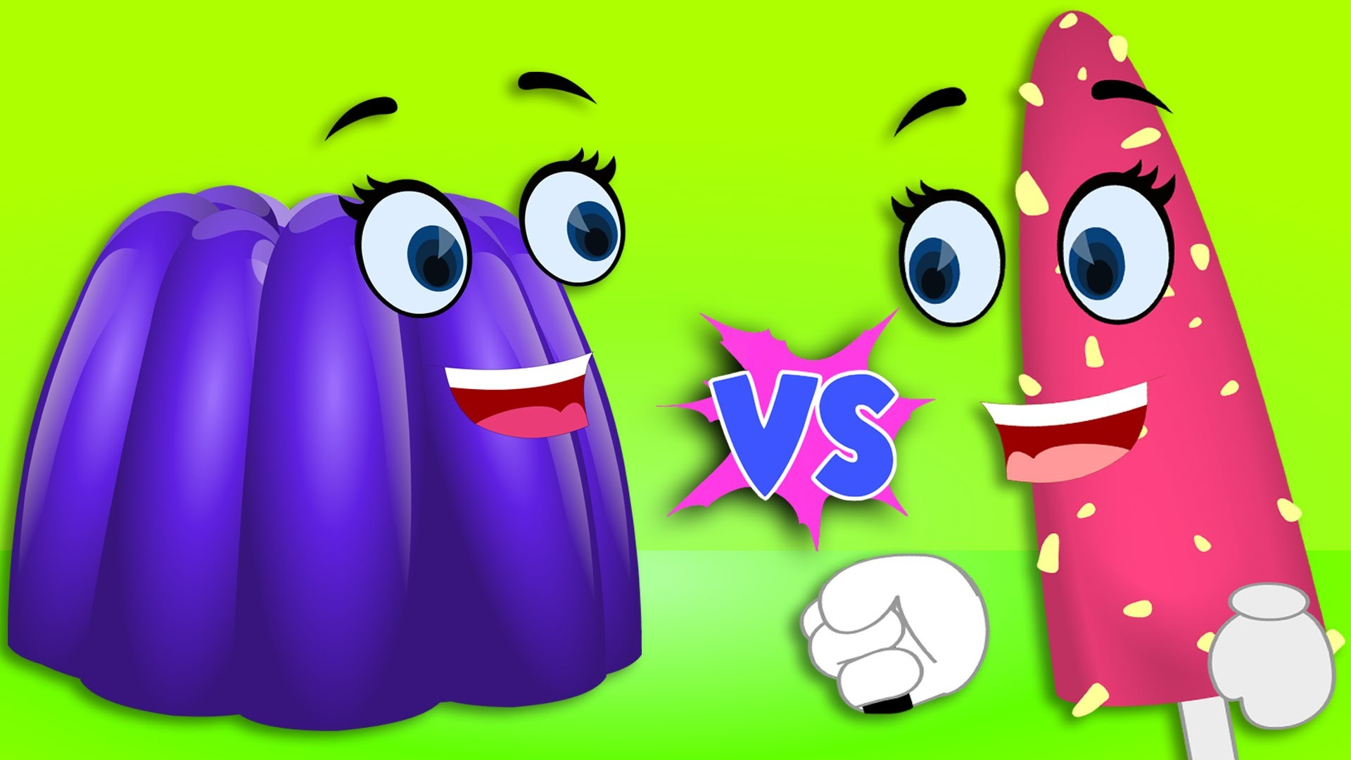 Finger Family Collection | Ice cream Vs Jelly Finger Family Nursery Rhymes  Songs – YouTube