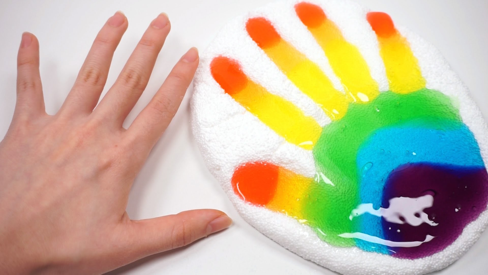 How To Make Colors Hand Finger Jelly Slime DIY Clay Foam Creative for Kids  – YouTube