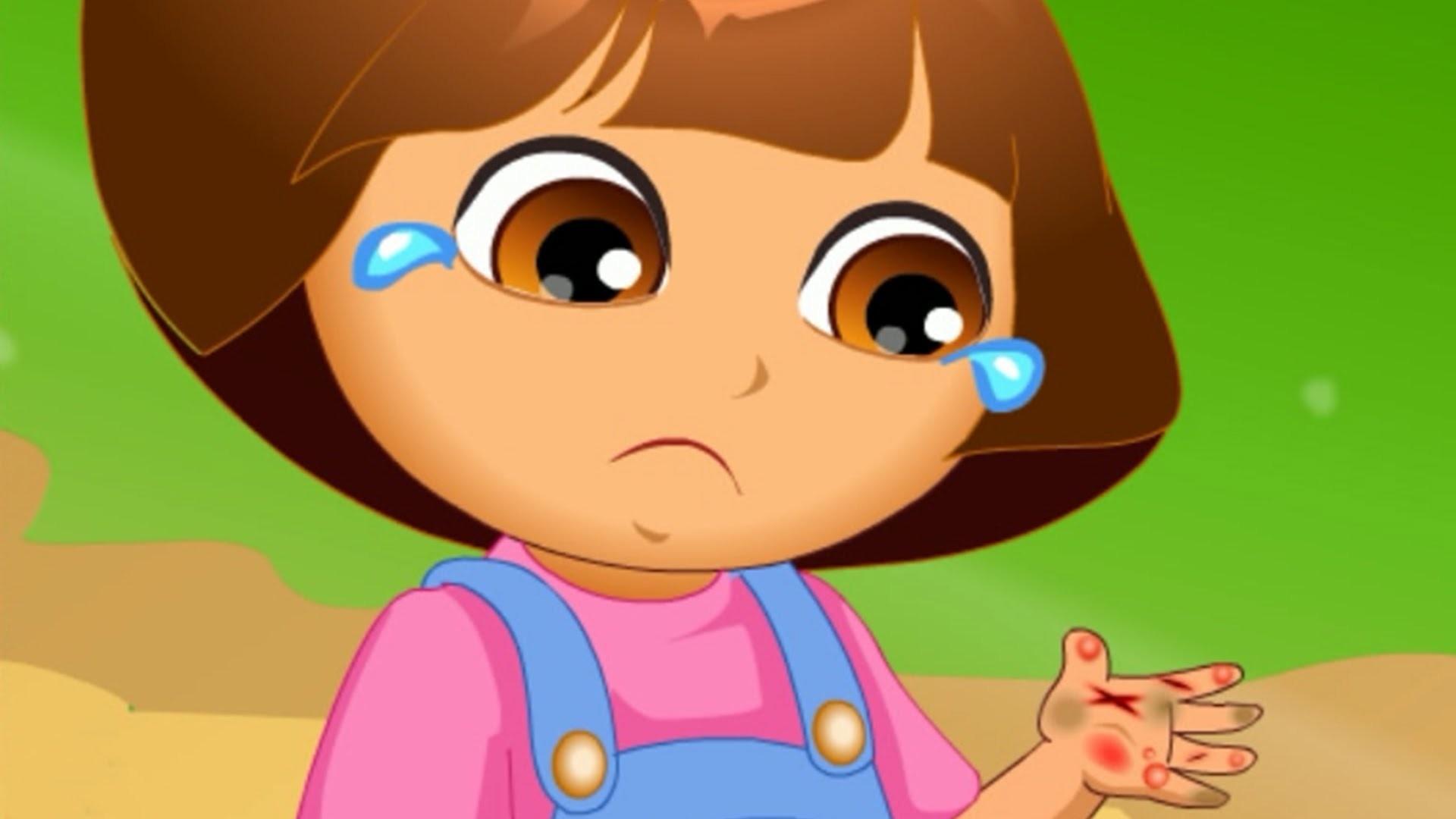 Dora Hand Doctor Caring – Dora The Explorer Baby Games – Dora Game for  Children – YouTube