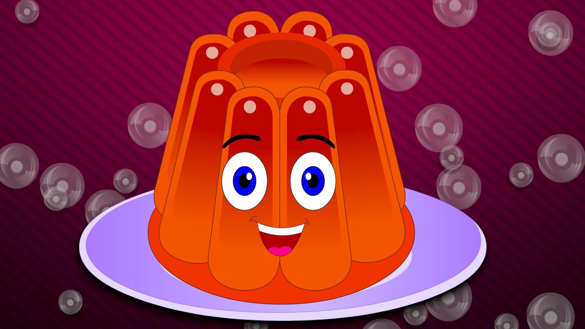 Jelly On a Plate Wibble Wobble Nursery Rhyme | Jelly On a Plate Nursery  Rhyme with Lyrics – YouTube