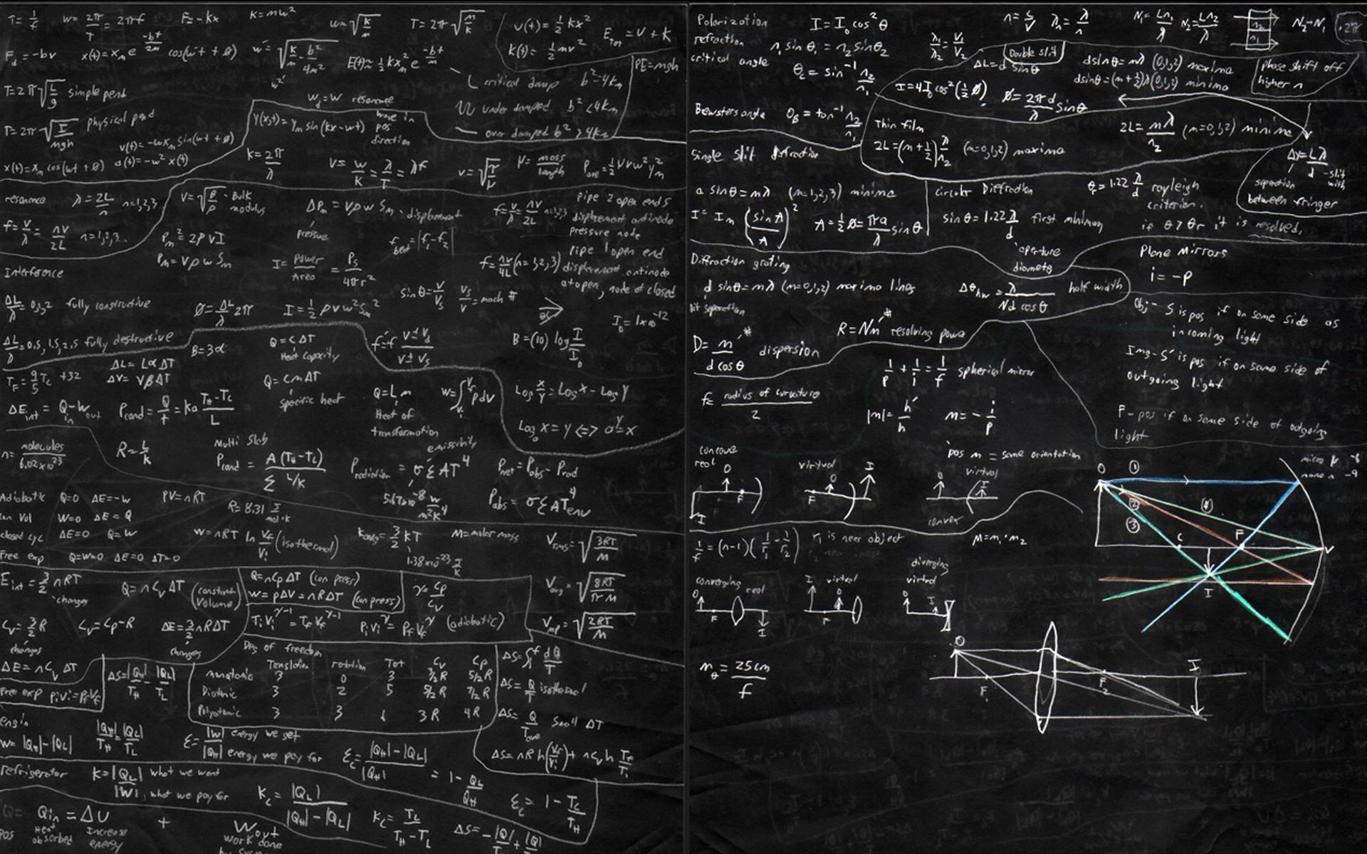 Physics mathematics chalk chalkboards wallpaper | | 7863 |  WallpaperUP