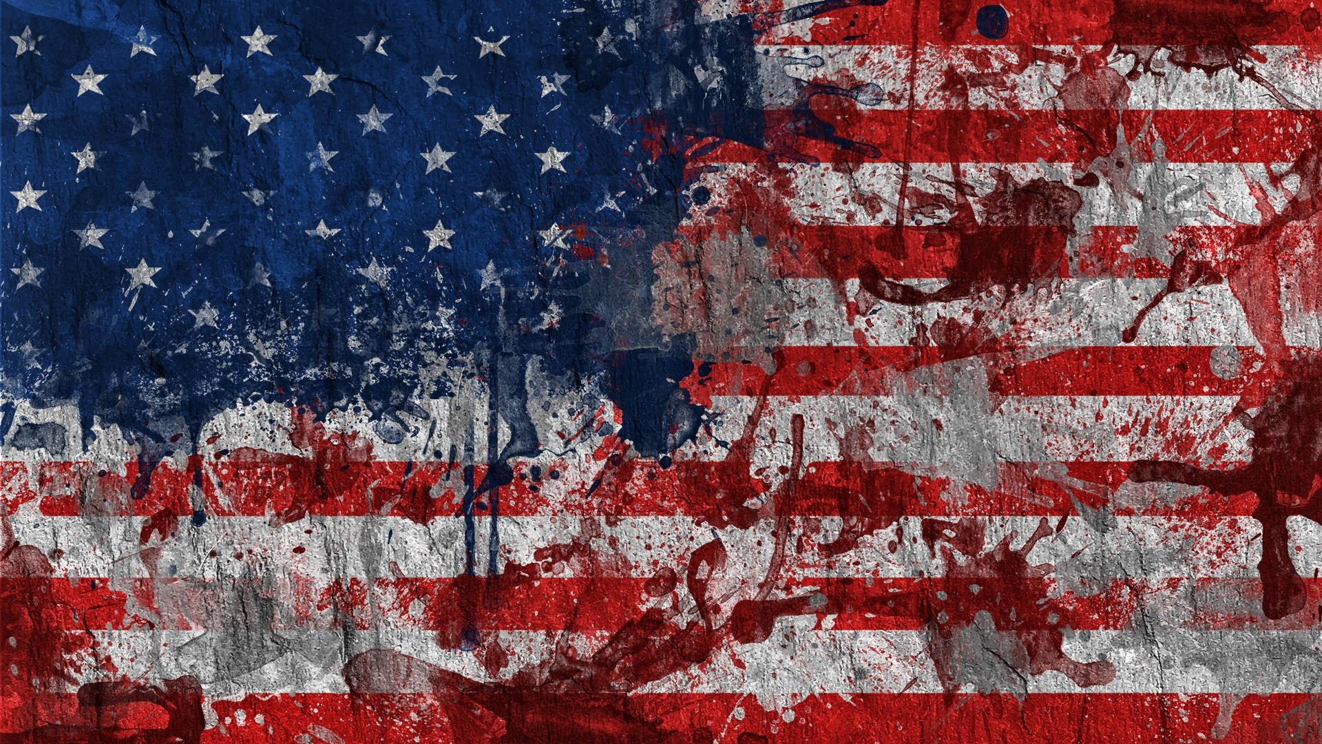 Dirty Painting American Flag Exclusive HD Wallpapers #5329