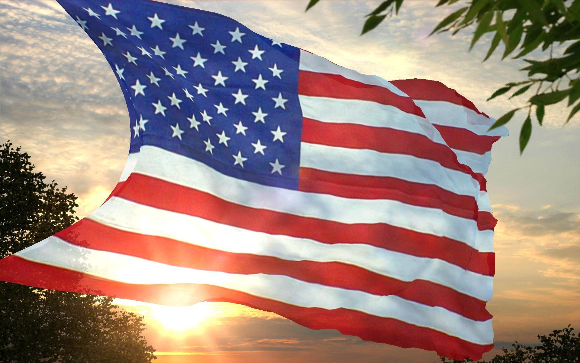Related Wallpaper for USA American Flag Wallpaper