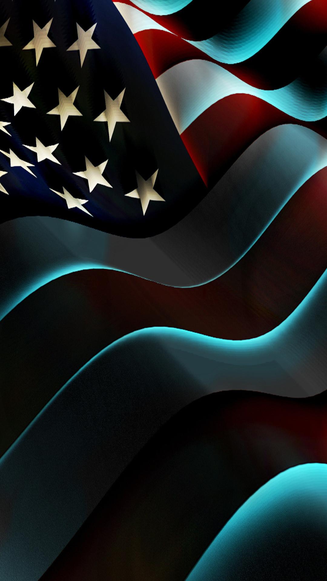 USA Flag Mobile HD Wallpaper