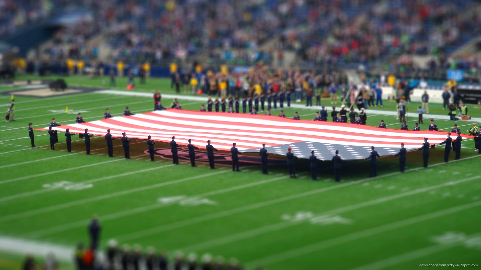 Giant USA flag for 1920×1080