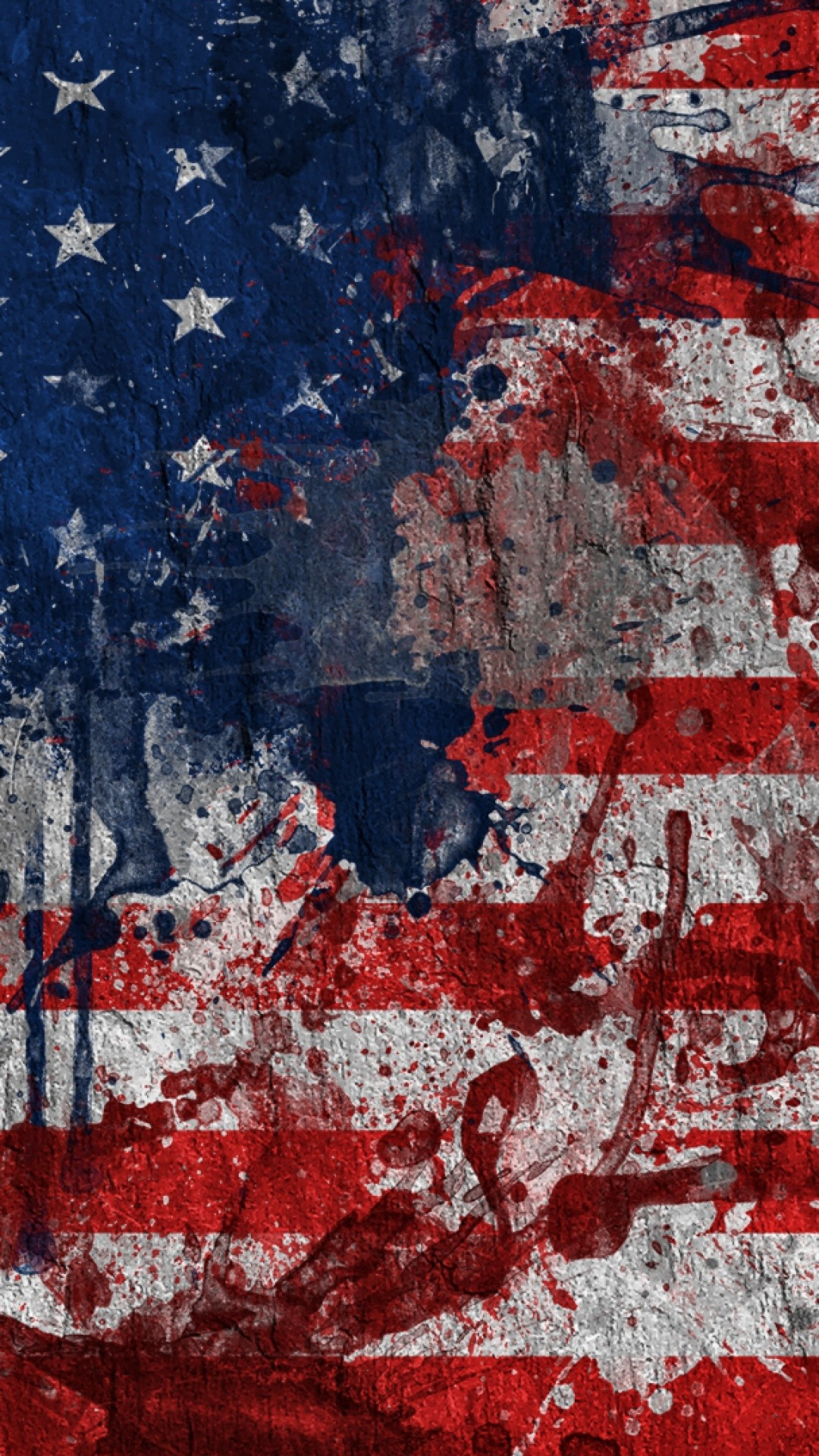Preview Wallpaper Usa, Flag, Color, Texture, Surface 1080×1920