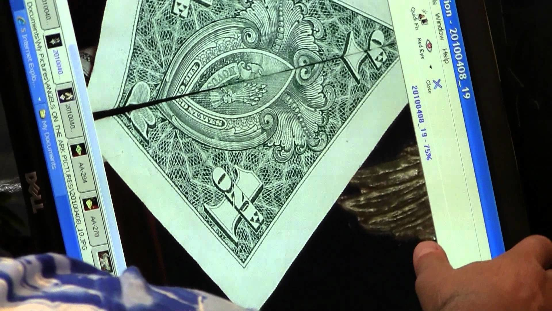 SACRED GEOMETRY & A 300 MILLION YEAR OLD VAMPIRE SQUID ON $1BILL  20110710161402