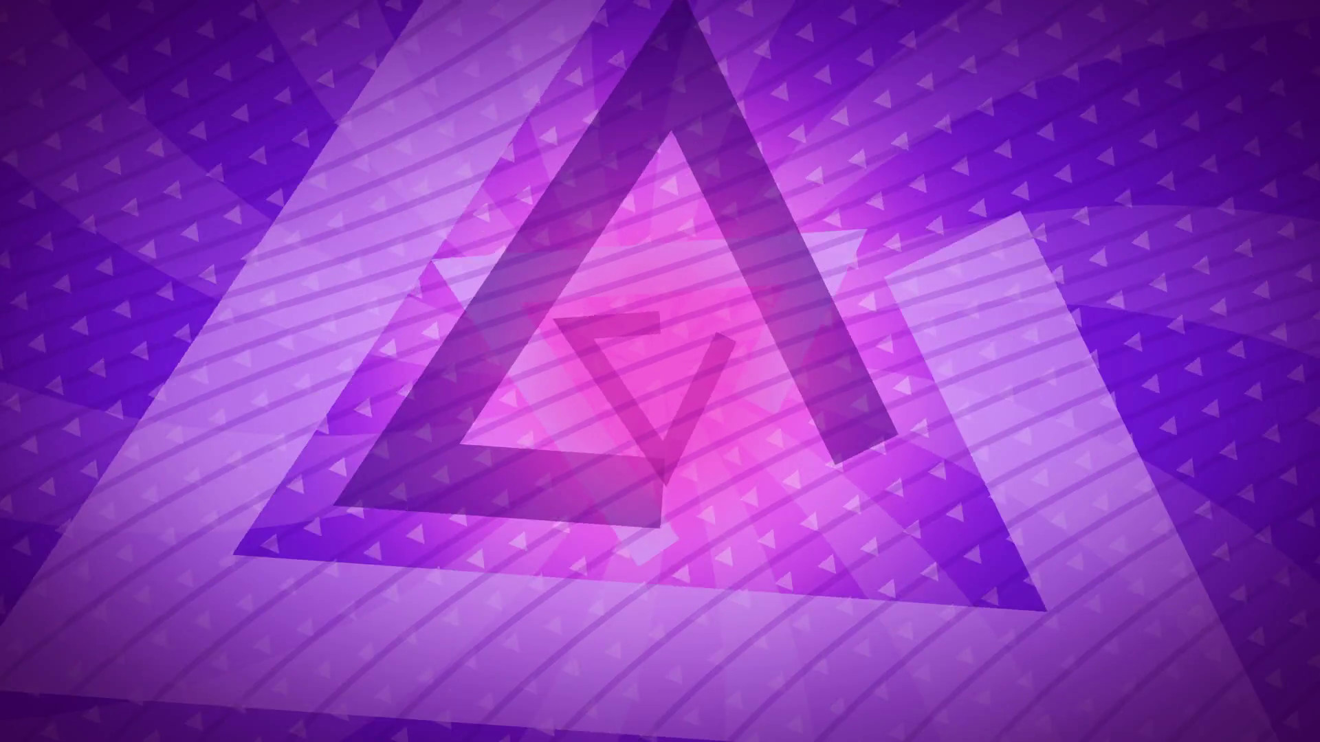 Subscription Library purple triangles Abstract Background Animation loop  for your logo or text. Technology Background. Futuristic