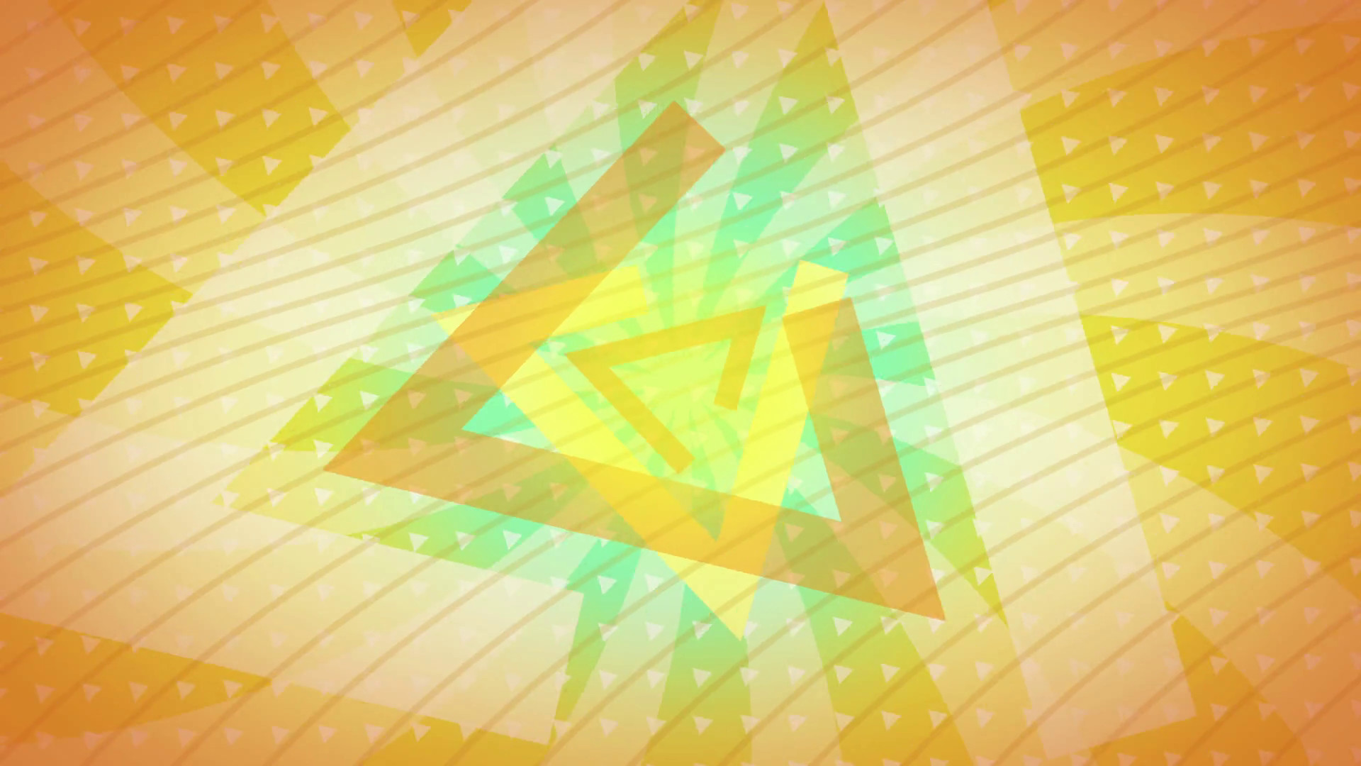 Subscription Library Yellow triangles Abstract Background Animation loop  for your logo or text. Technology Background. Futuristic