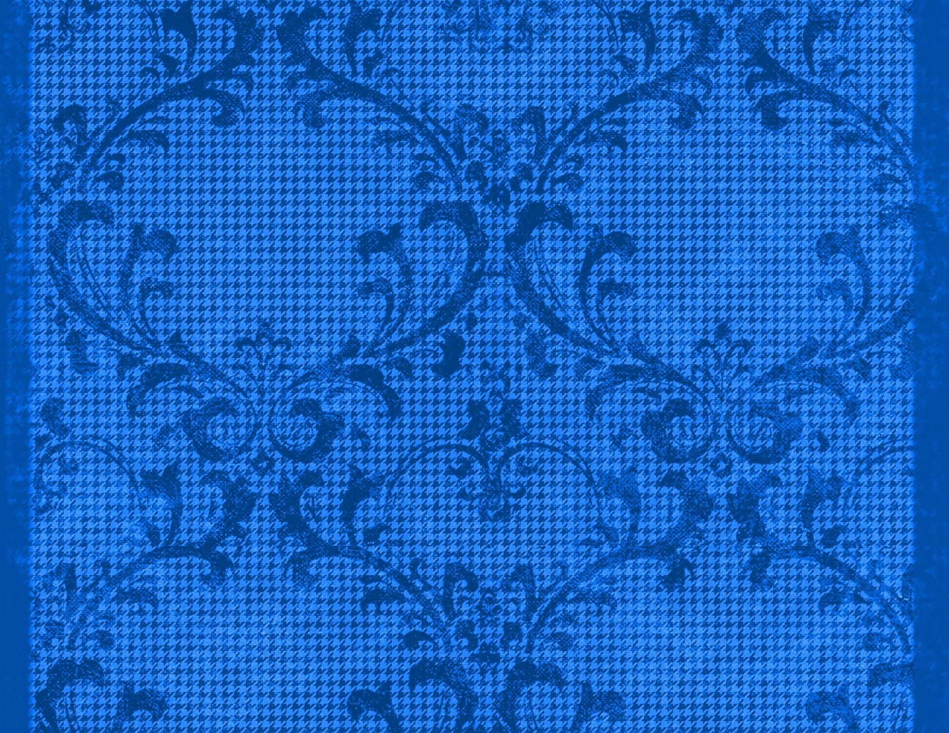 Old Fashion Blue Background