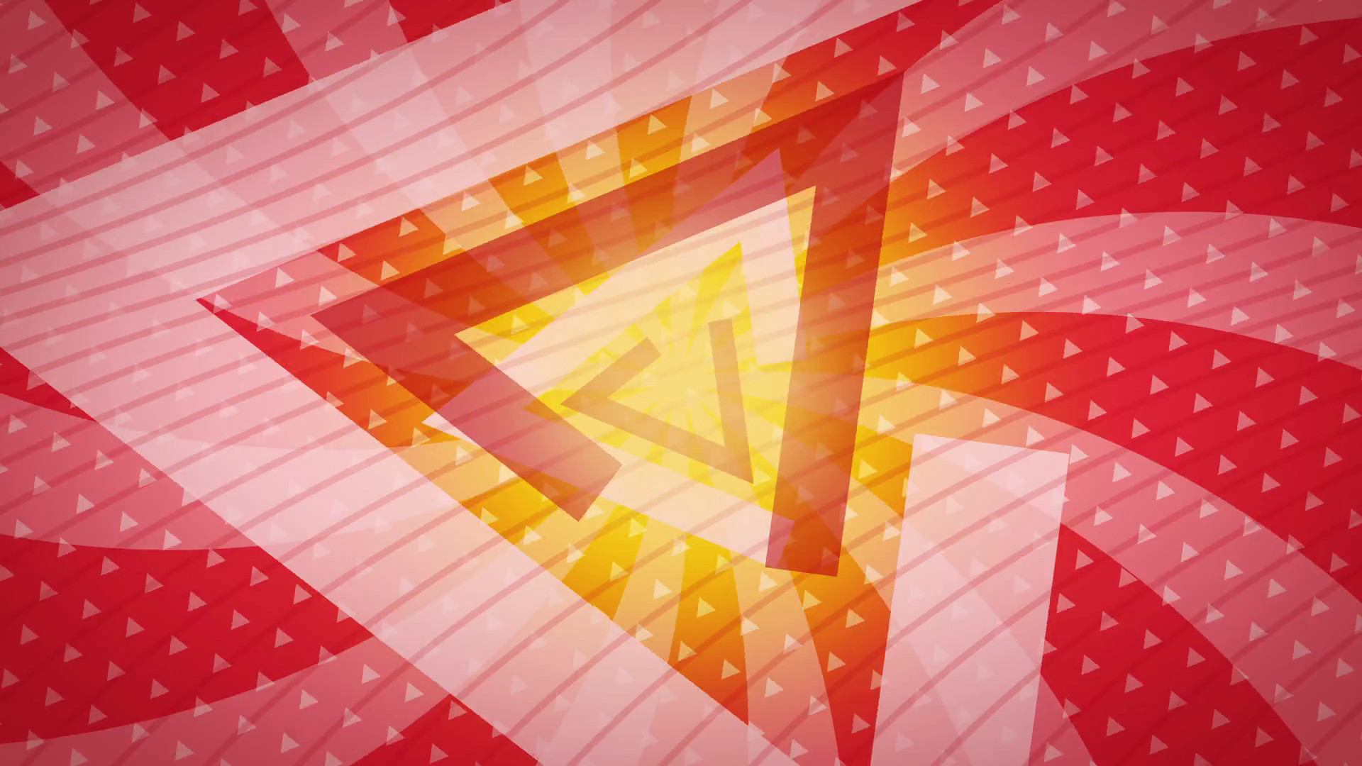 Subscription Library Red triangles Abstract Background Animation loop for  your logo or text. Technology Background. Futuristic