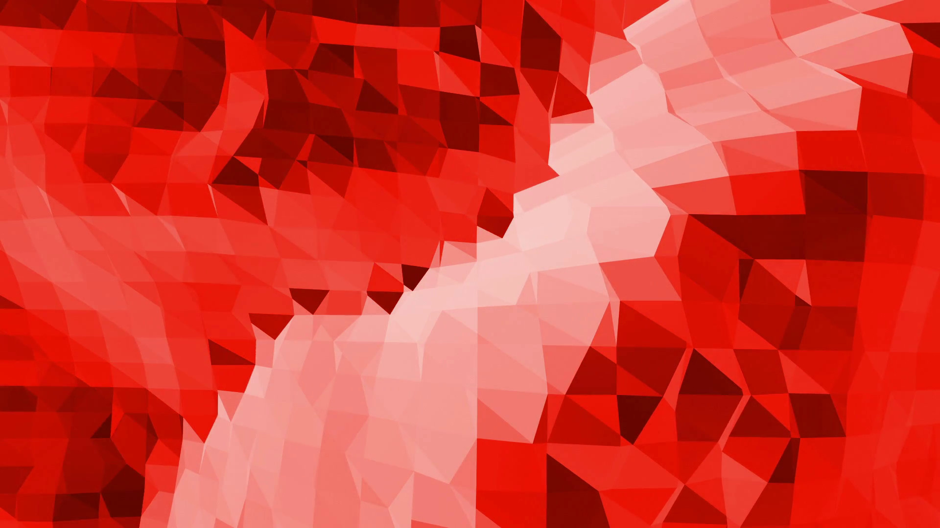 Abstract red low poly surface as fashion background in stylish low poly  design. Polygonal mosaic background with vertex, spikes.