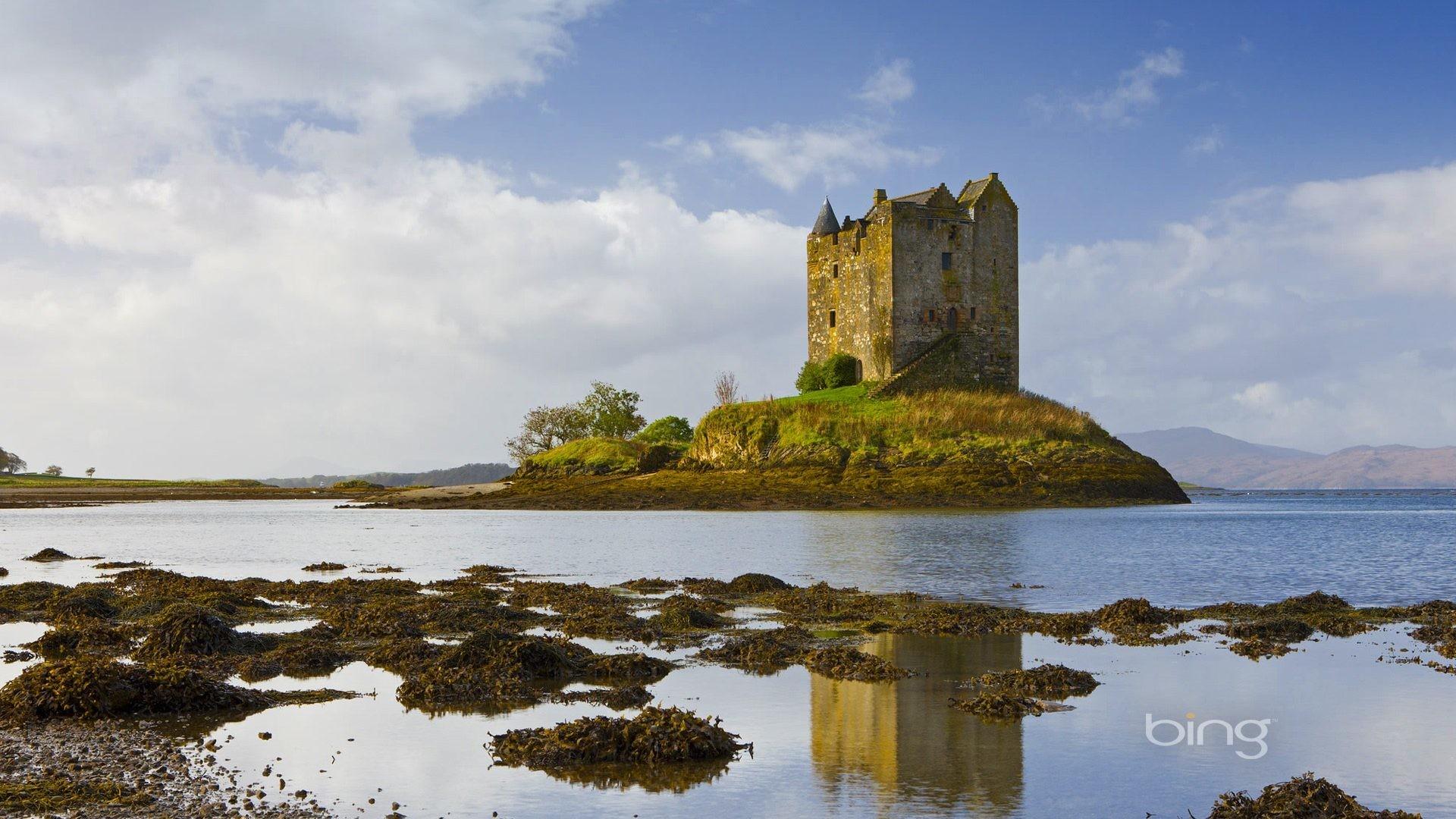 Medieval – Bing Best Stalker Castle Microsoft Lake Search Fullscreen  Wallpaper for HD 16:9